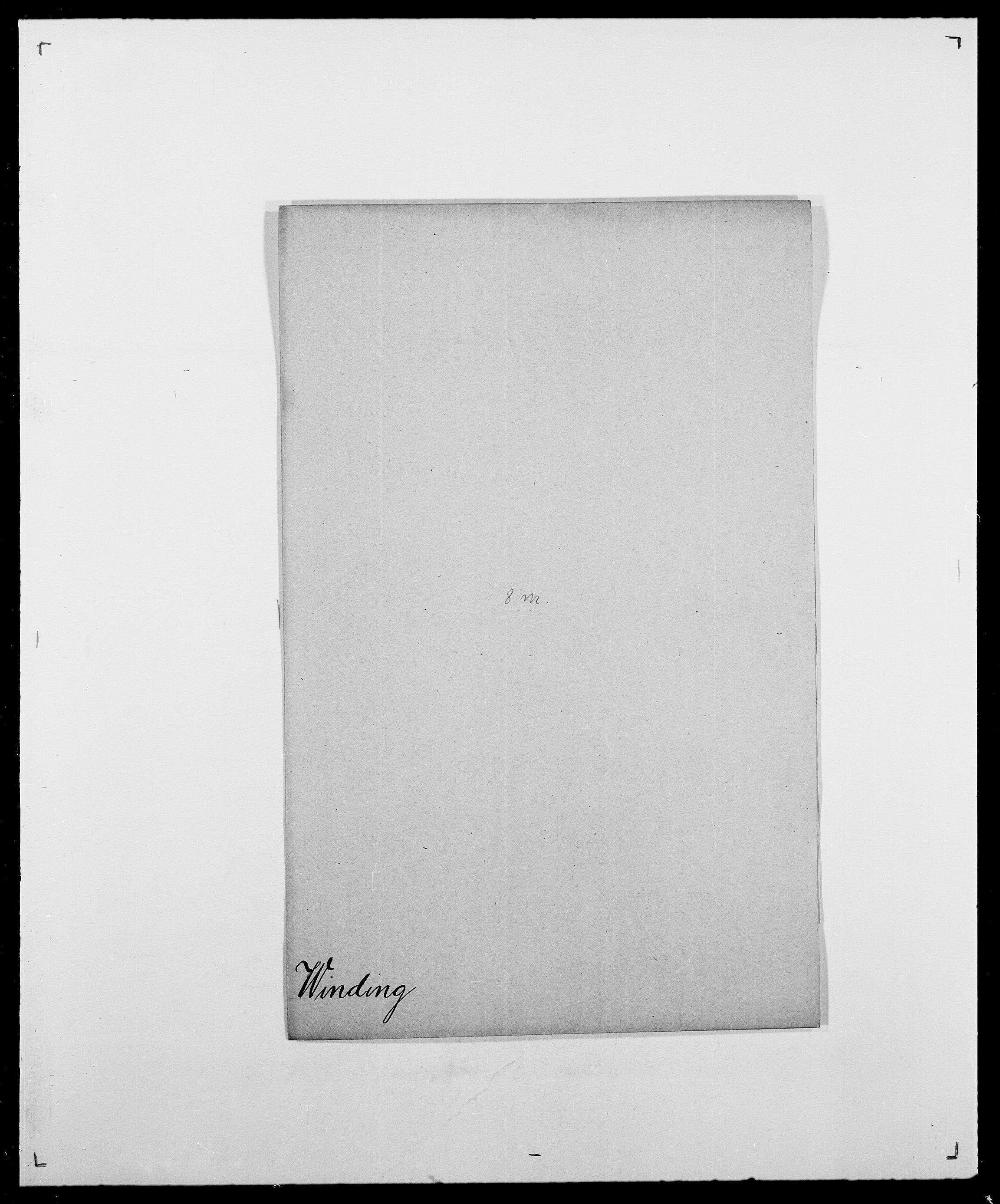 SAO, Delgobe, Charles Antoine - samling, D/Da/L0042: Vilain - Wulf, Wulff, se også Wolf, s. 154