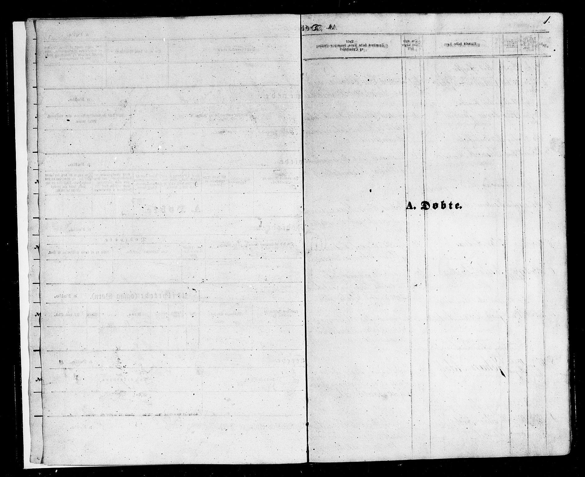 SAT, Ministerialprotokoller, klokkerbøker og fødselsregistre - Nordland, 803/L0075: Klokkerbok nr. 803C02, 1867-1881, s. 1