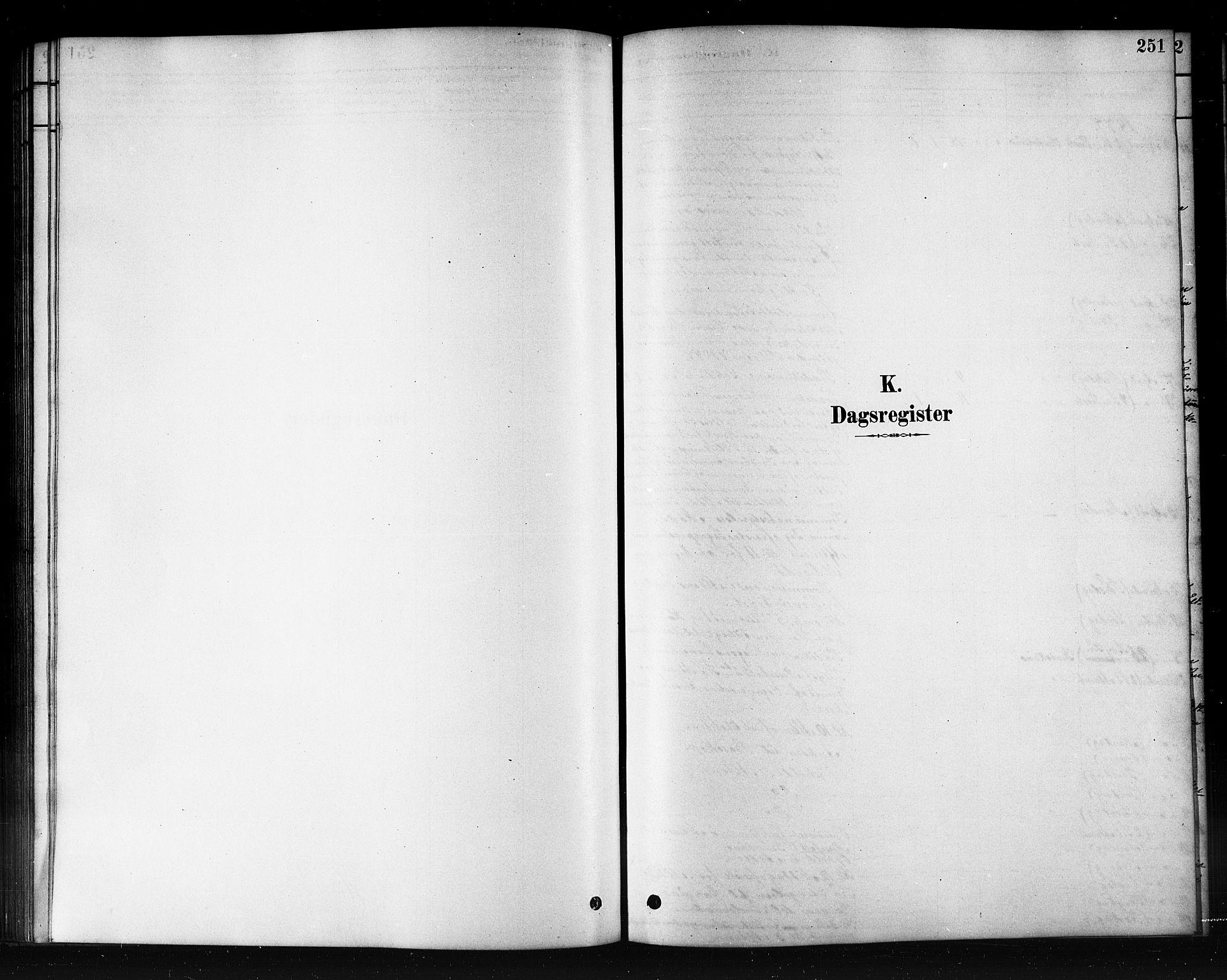 SATØ, Kautokeino sokneprestembete, H/Hb/L0002.klokk: Klokkerbok nr. 2, 1877-1896, s. 251