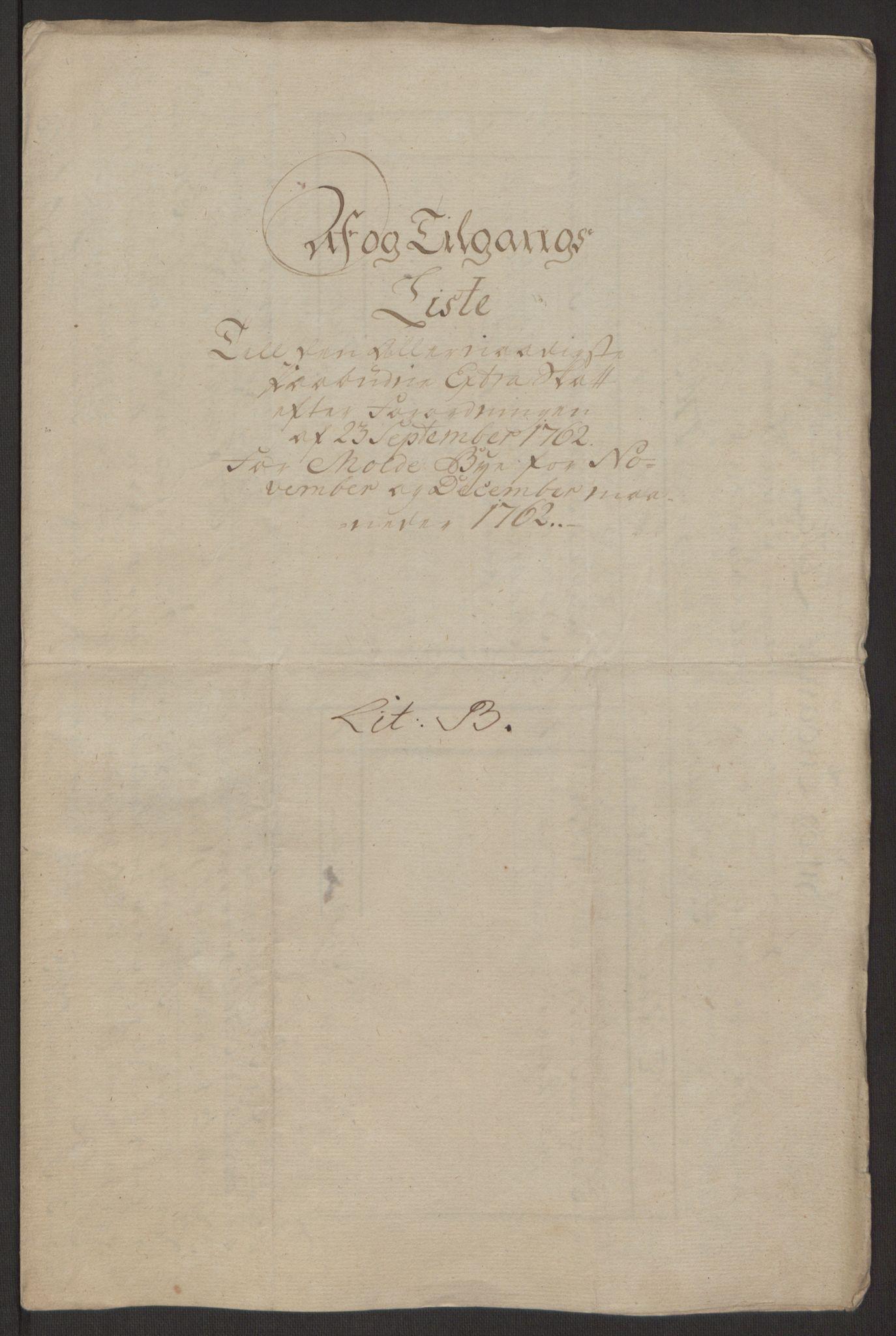 RA, Rentekammeret inntil 1814, Reviderte regnskaper, Byregnskaper, R/Rq/L0487: [Q1] Kontribusjonsregnskap, 1762-1772, s. 29