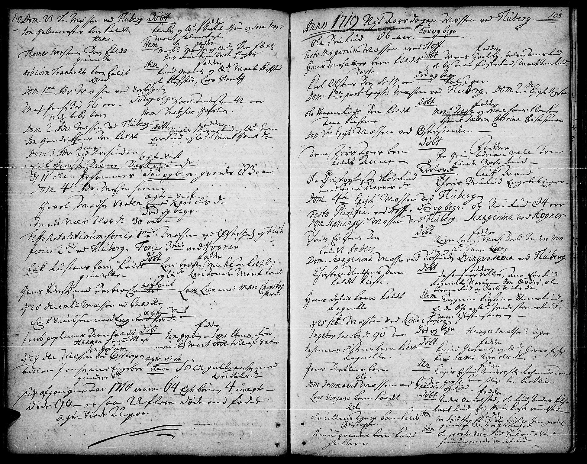 SAH, Land prestekontor, Ministerialbok nr. 1, 1708-1732, s. 102-103