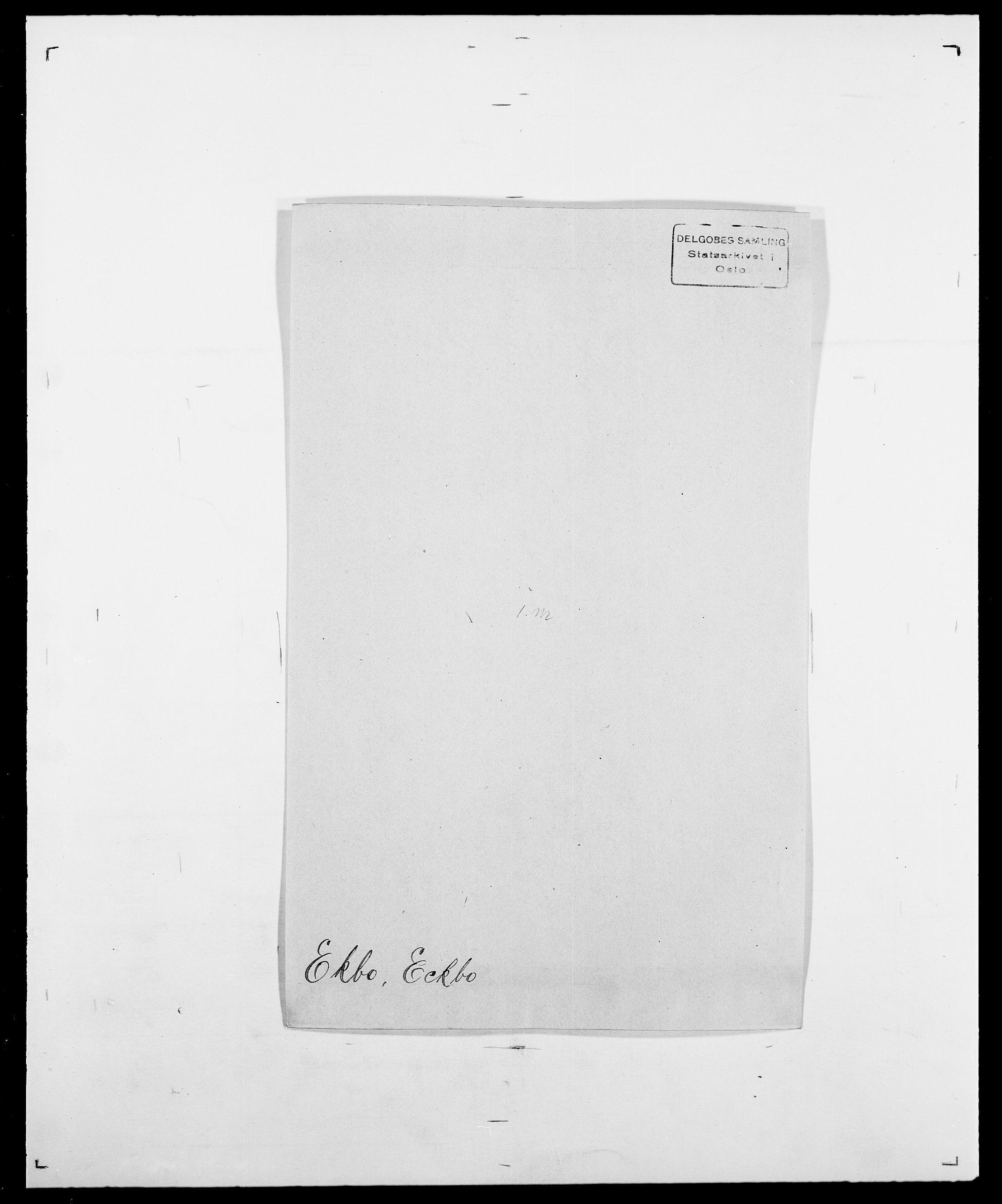 SAO, Delgobe, Charles Antoine - samling, D/Da/L0010: Dürendahl - Fagelund, s. 363