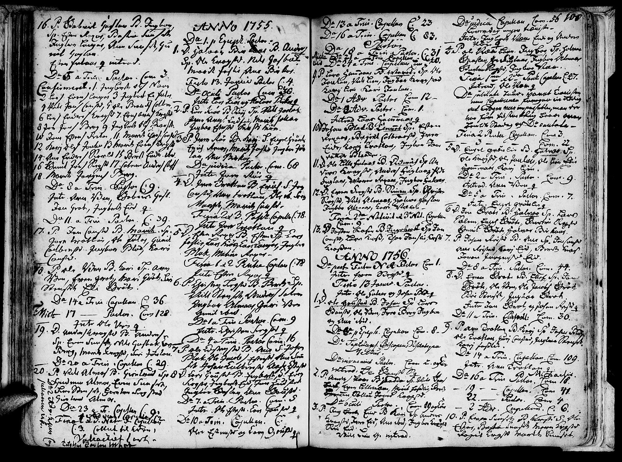SAT, Ministerialprotokoller, klokkerbøker og fødselsregistre - Sør-Trøndelag, 691/L1060: Ministerialbok nr. 691A01 /4, 1740-1767, s. 108