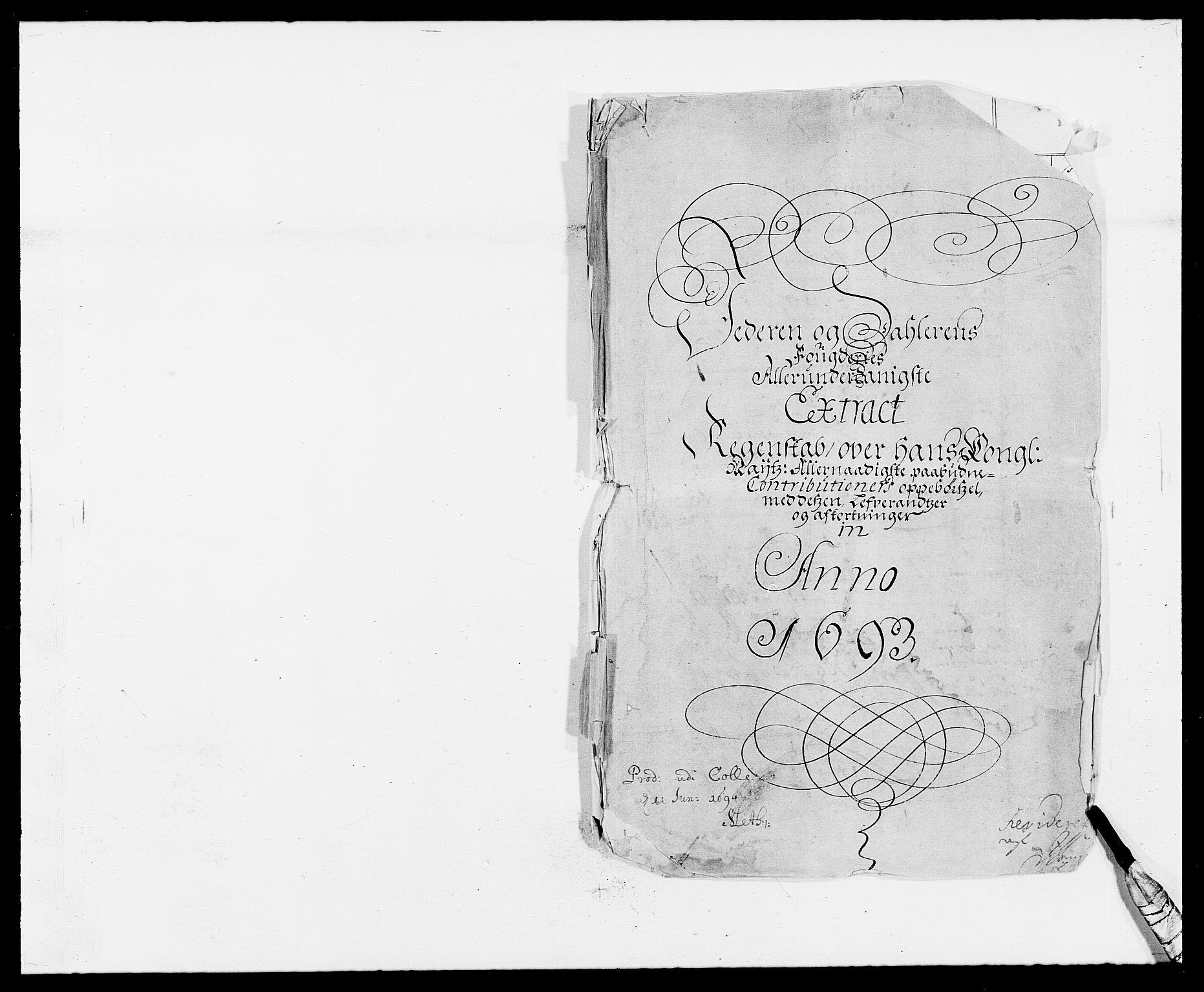 RA, Rentekammeret inntil 1814, Reviderte regnskaper, Fogderegnskap, R46/L2727: Fogderegnskap Jæren og Dalane, 1690-1693, s. 238