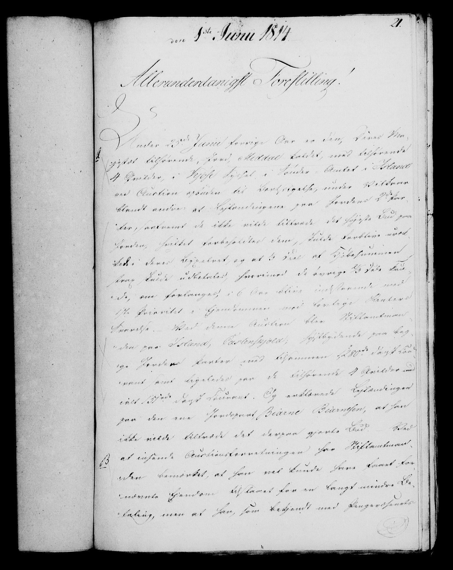 RA, Rentekammeret, Kammerkanselliet, G/Gf/Gfa/L0095: Norsk relasjons- og resolusjonsprotokoll (merket RK 52.95), 1813-1814, s. 621