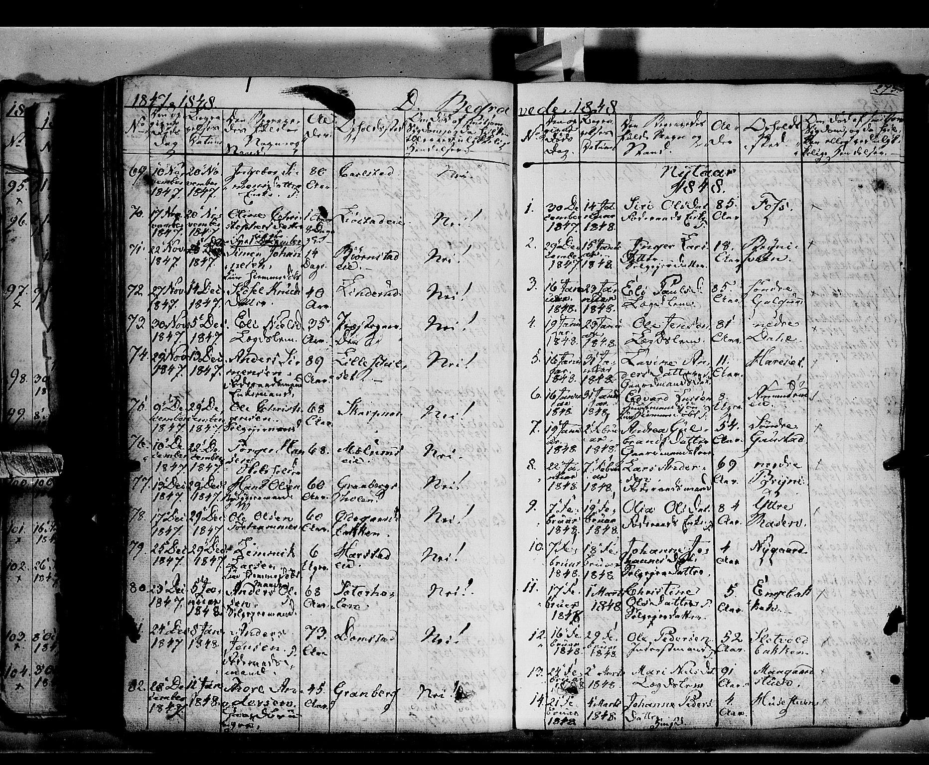 SAH, Romedal prestekontor, K/L0004: Ministerialbok nr. 4, 1847-1861, s. 273