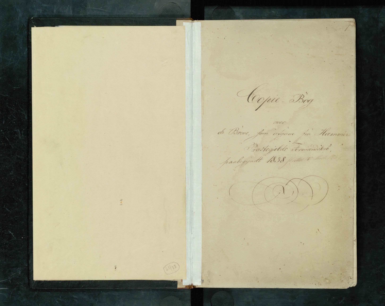 IKAH, Hamre kommune. Formannskapet, B/Ba/L0001a: Kopibok for formannskapet , 1838-1857