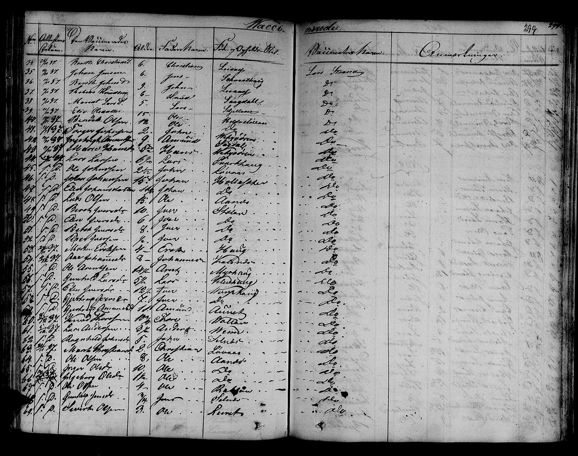 SAT, Ministerialprotokoller, klokkerbøker og fødselsregistre - Sør-Trøndelag, 630/L0492: Ministerialbok nr. 630A05, 1830-1840, s. 299
