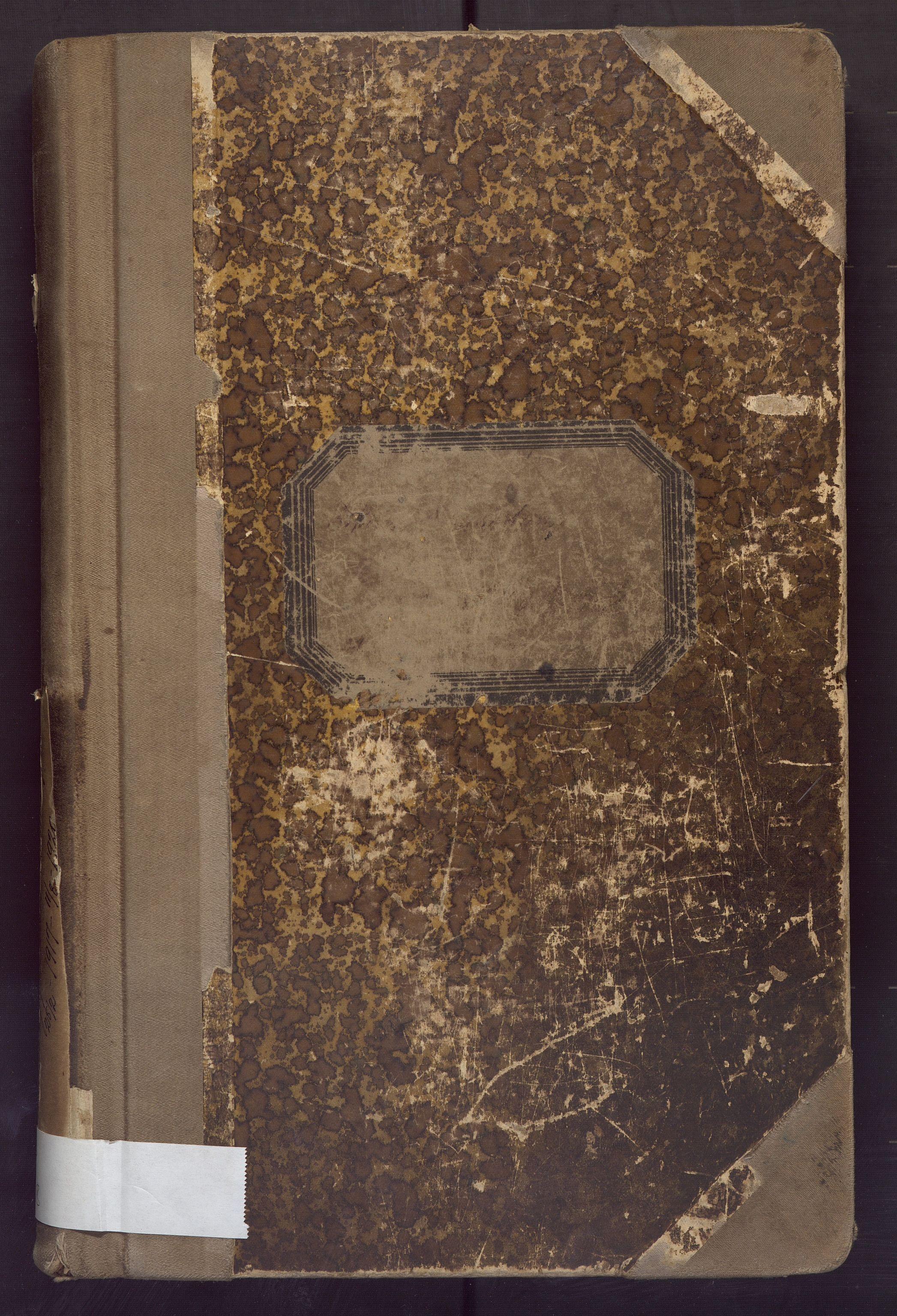 BBA, Laksevåg kommune. Formannskapet, Ab/L0008: Forhandlingsprotokoll, 1917-1920