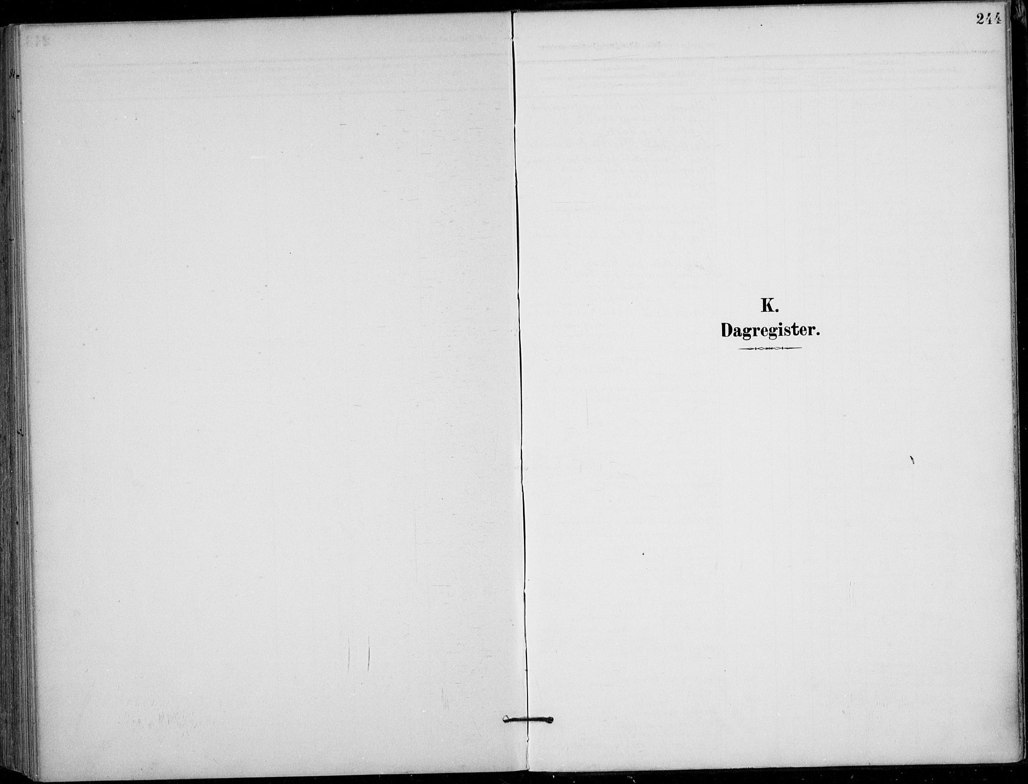SAKO, Siljan kirkebøker, F/Fa/L0003: Ministerialbok nr. 3, 1896-1910, s. 244