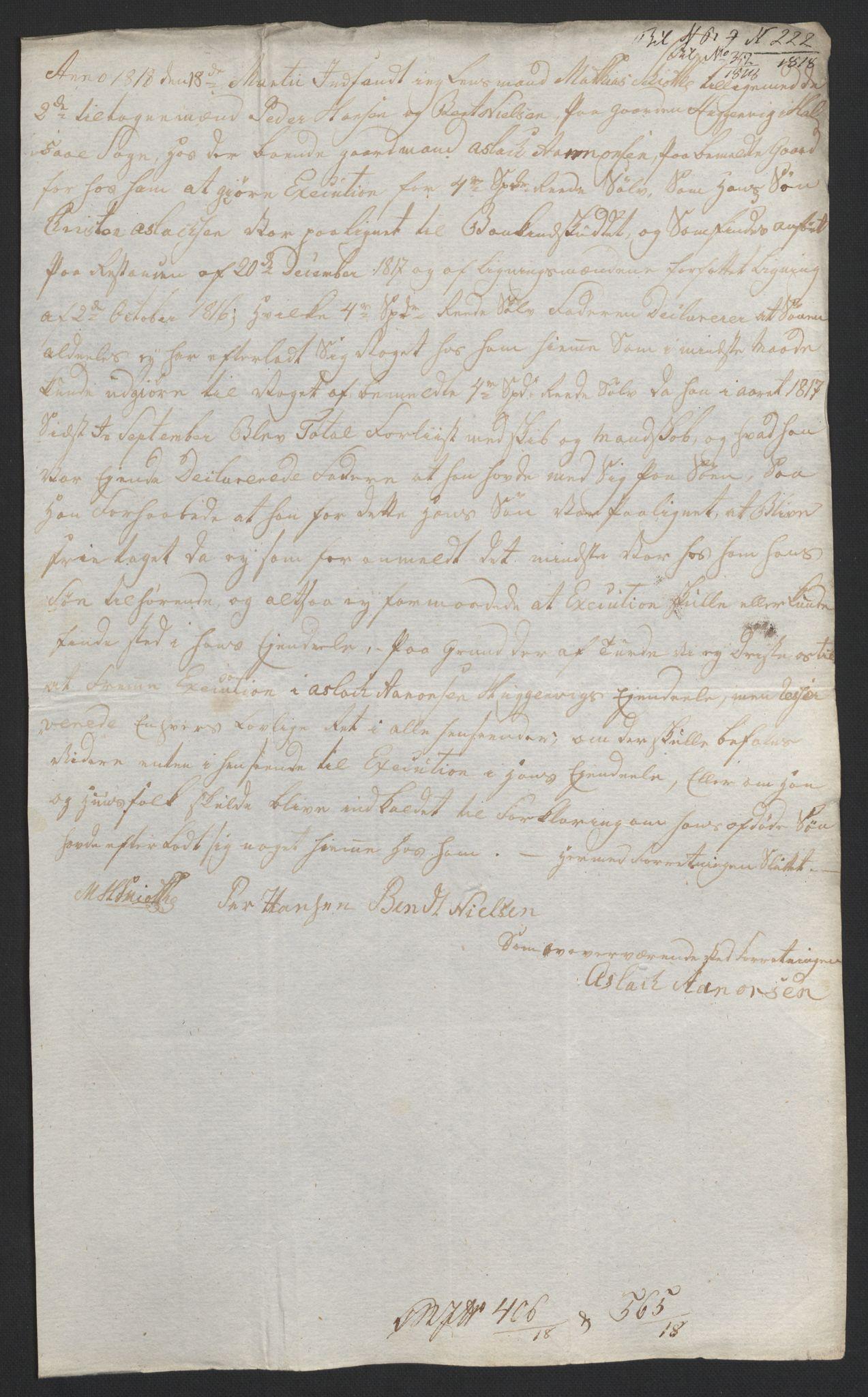 NOBA, Norges Bank/Sølvskatten 1816*, 1816-1822, s. 63