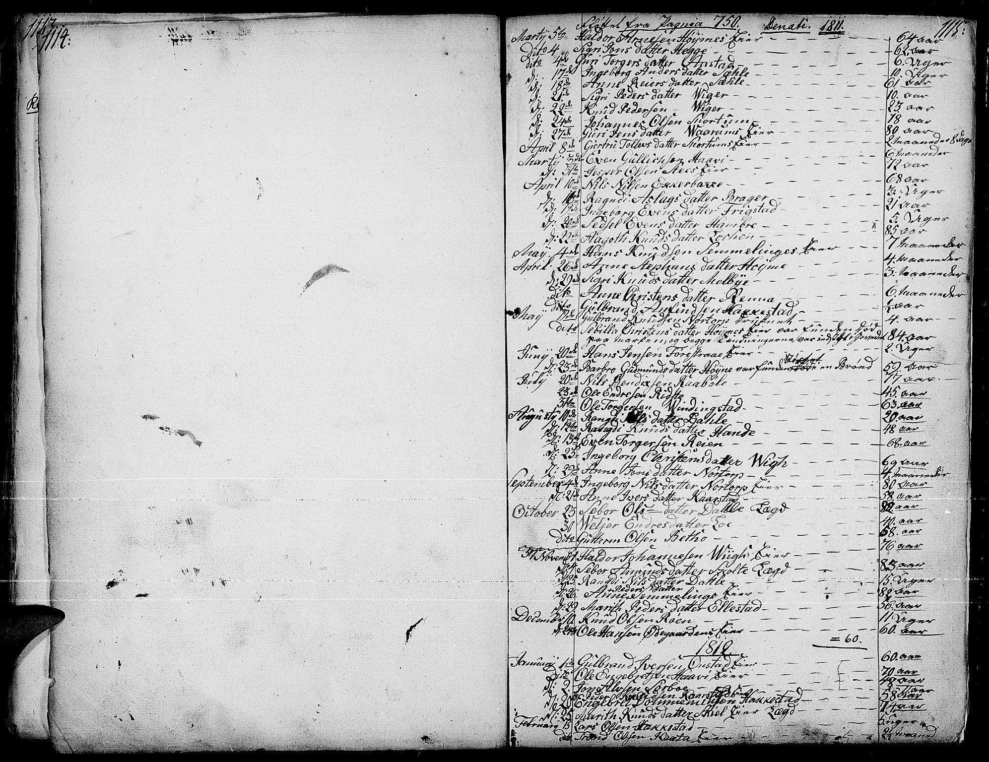 SAH, Slidre prestekontor, Ministerialbok nr. 1, 1724-1814, s. 1114-1115