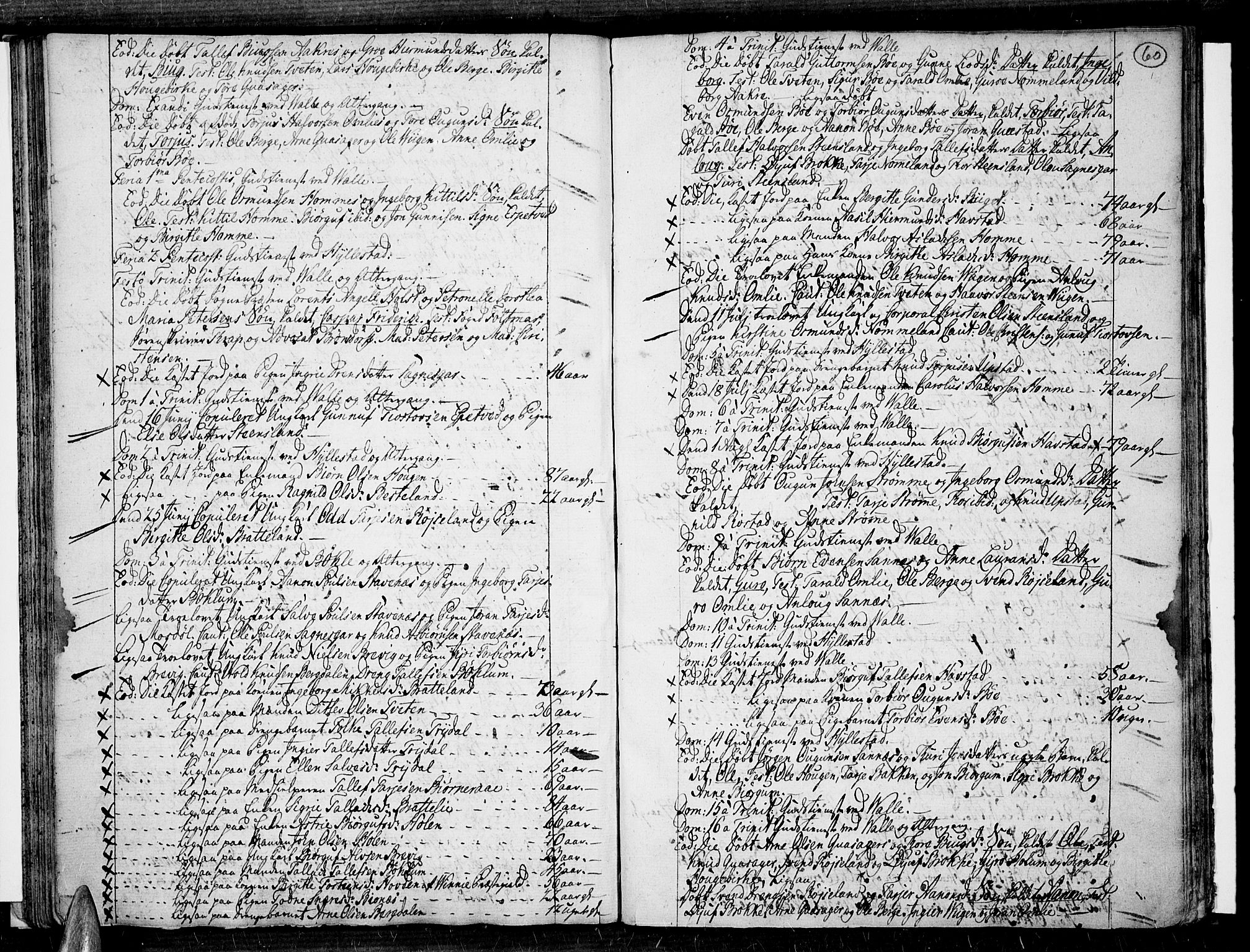 SAK, Valle sokneprestkontor, F/Fa/Fac/L0003: Ministerialbok nr. A 3, 1776-1790, s. 60