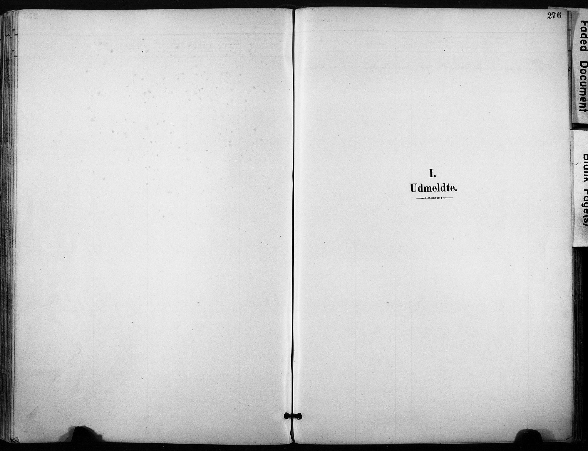 SAT, Ministerialprotokoller, klokkerbøker og fødselsregistre - Sør-Trøndelag, 640/L0579: Ministerialbok nr. 640A04, 1889-1902, s. 276