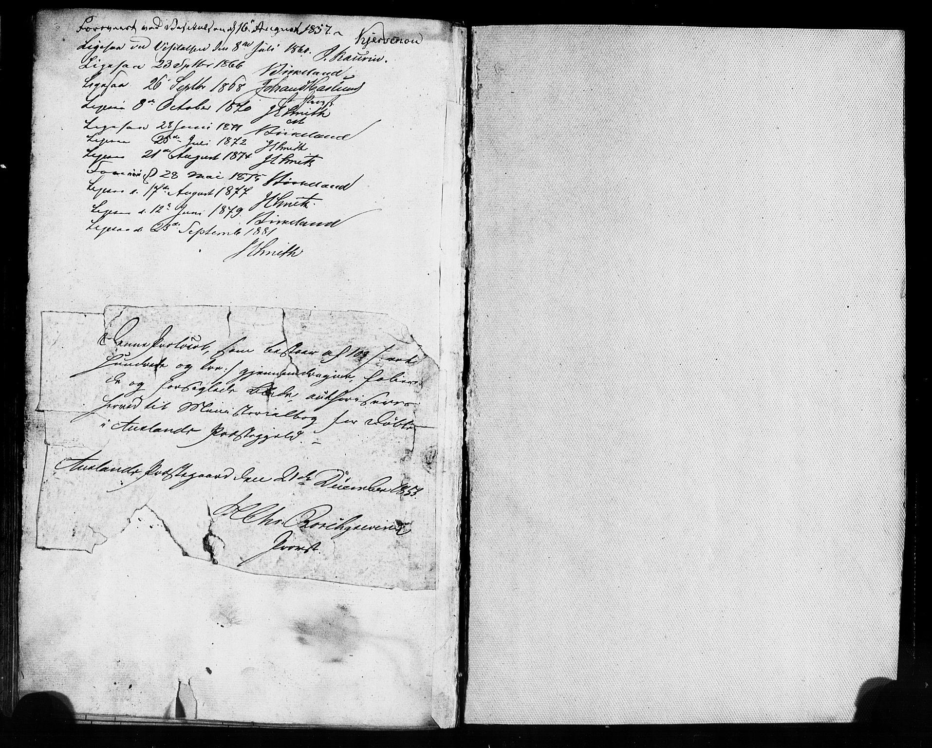 SAB, Aurland Sokneprestembete*, Ministerialbok nr. A 8, 1853-1879