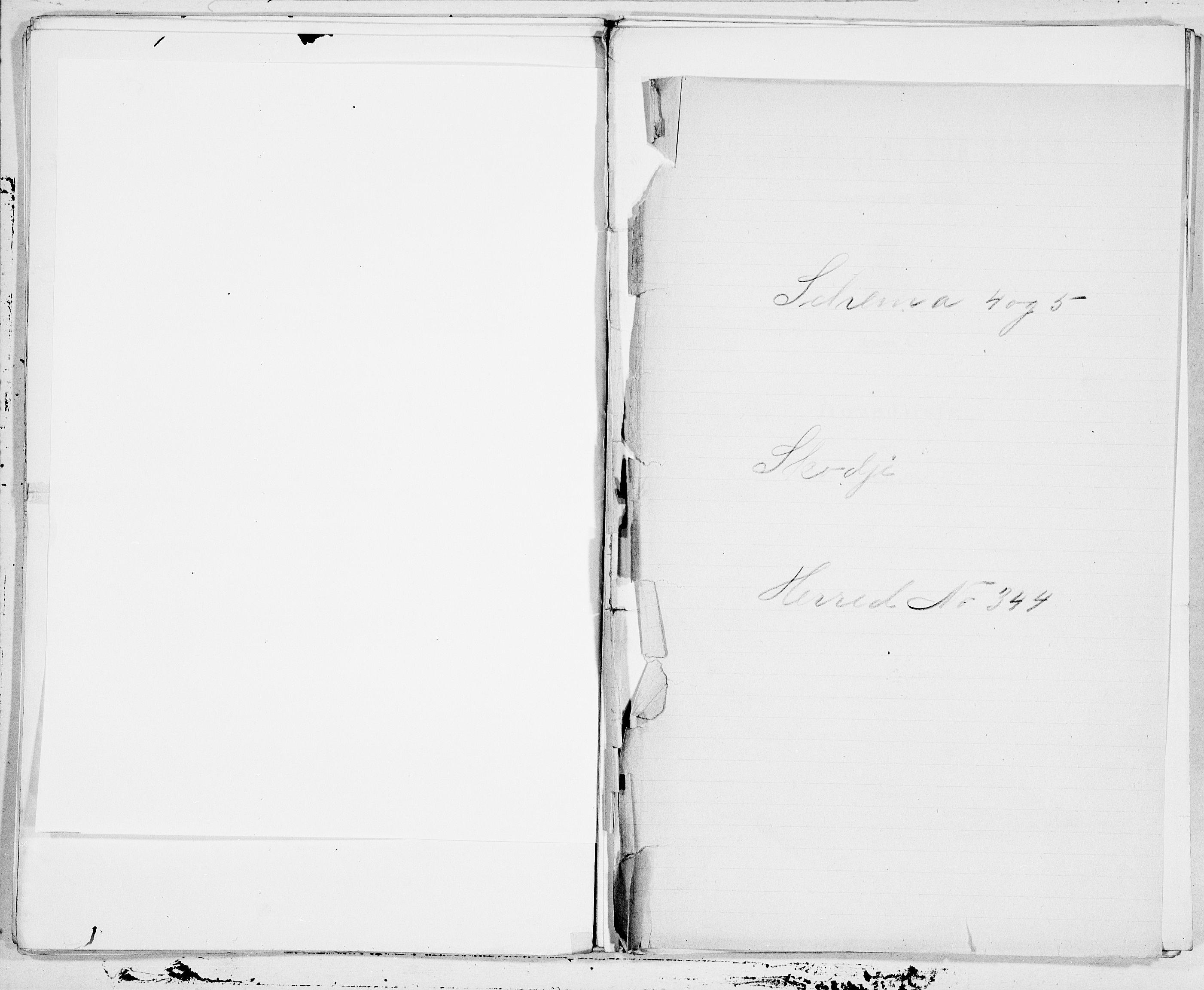 SAT, Folketelling 1900 for 1529 Skodje herred, 1900, s. 1