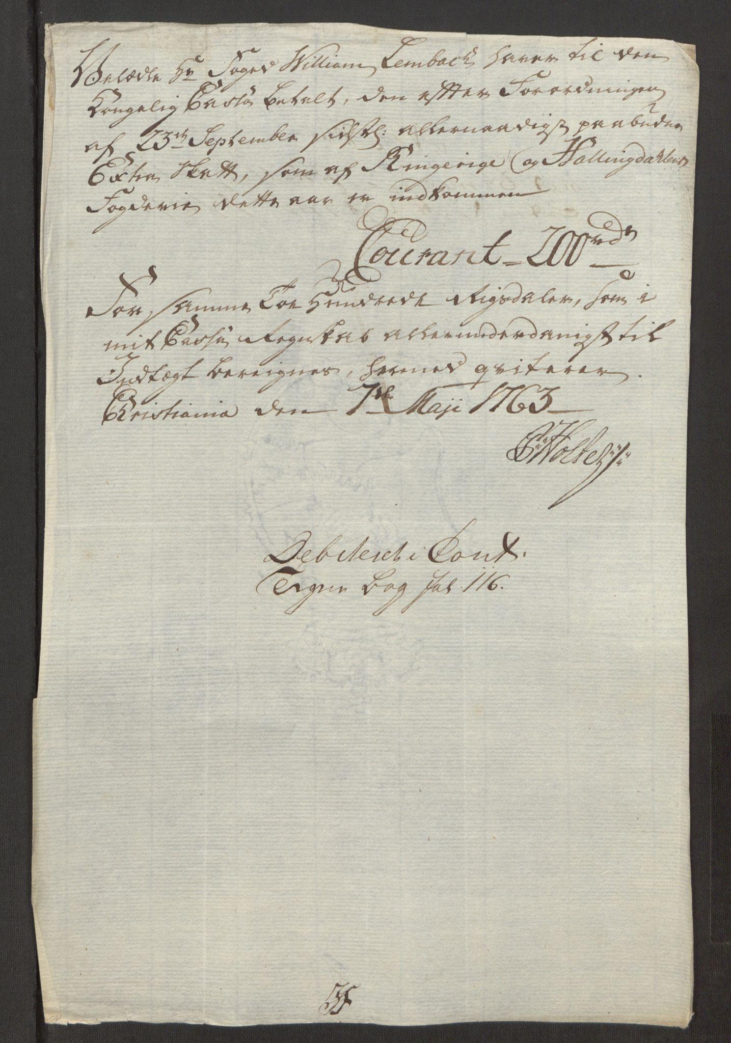 RA, Rentekammeret inntil 1814, Reviderte regnskaper, Fogderegnskap, R23/L1565: Ekstraskatten Ringerike og Hallingdal, 1762-1763, s. 561