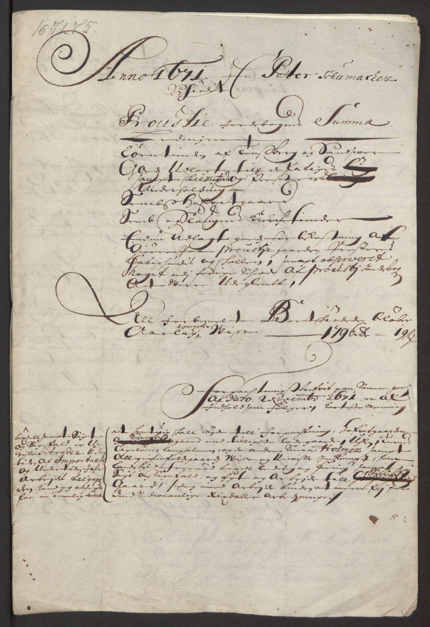 RA, Rentekammeret inntil 1814, Reviderte regnskaper, Fogderegnskap, R32/L1844: Fogderegnskap Jarlsberg grevskap, 1674-1675, s. 382