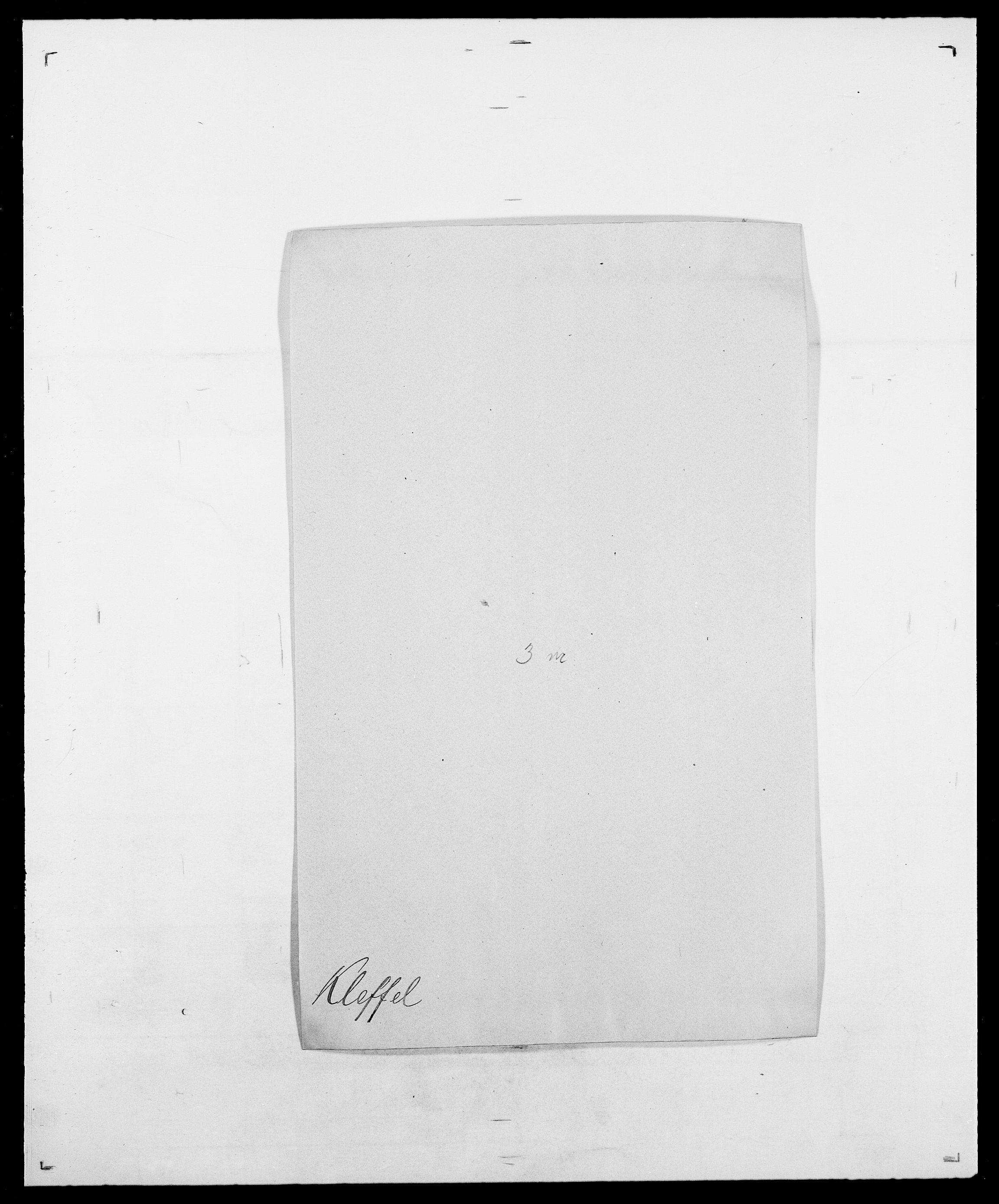 SAO, Delgobe, Charles Antoine - samling, D/Da/L0021: Klagenberg - Kristoft, s. 14