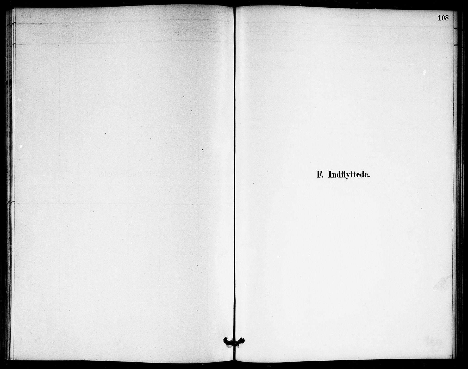 SAO, Nannestad prestekontor Kirkebøker, F/Fb/L0001: Ministerialbok nr. II 1, 1881-1890, s. 108