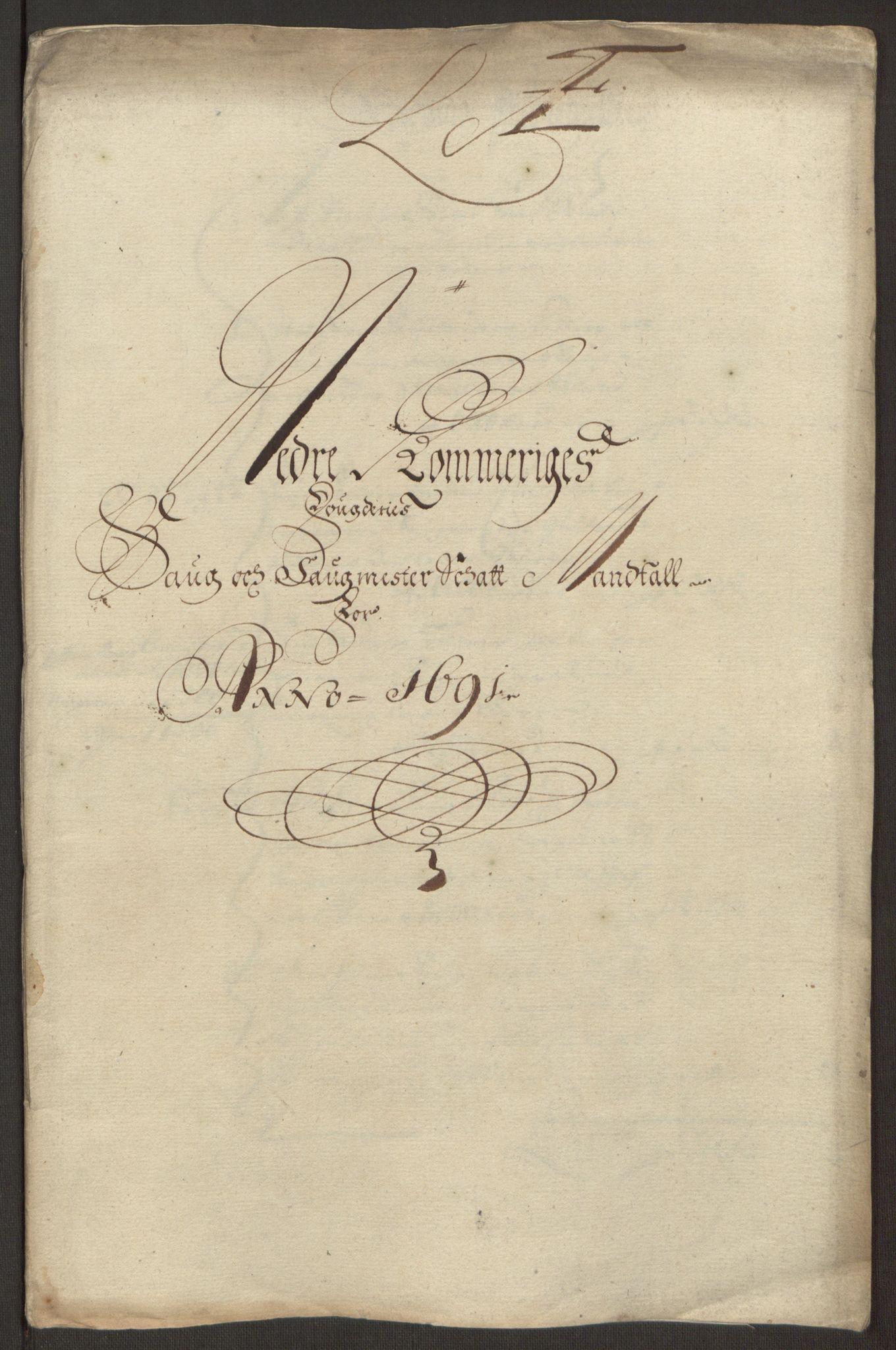 RA, Rentekammeret inntil 1814, Reviderte regnskaper, Fogderegnskap, R11/L0575: Fogderegnskap Nedre Romerike, 1691, s. 117
