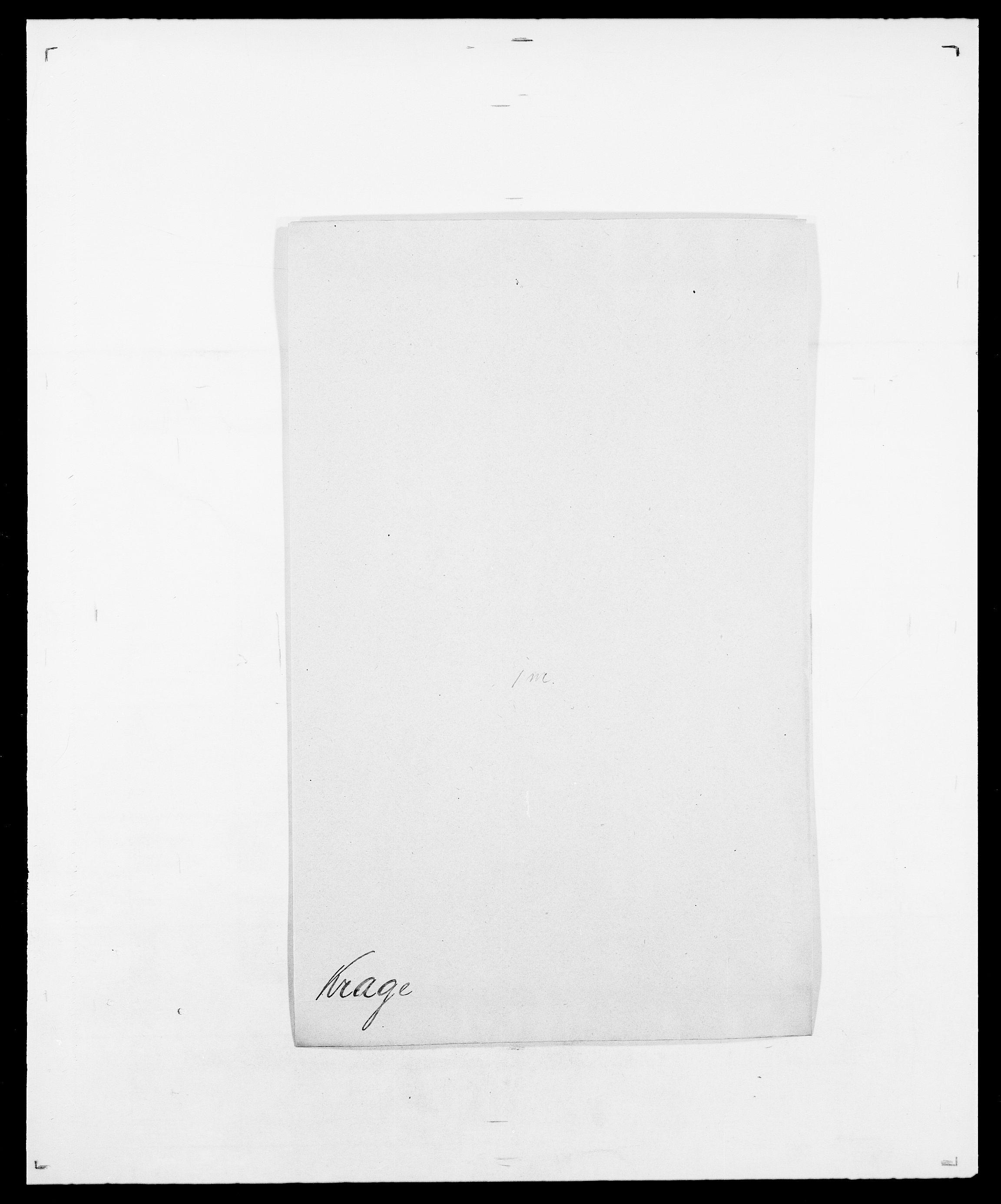 SAO, Delgobe, Charles Antoine - samling, D/Da/L0021: Klagenberg - Kristoft, s. 711