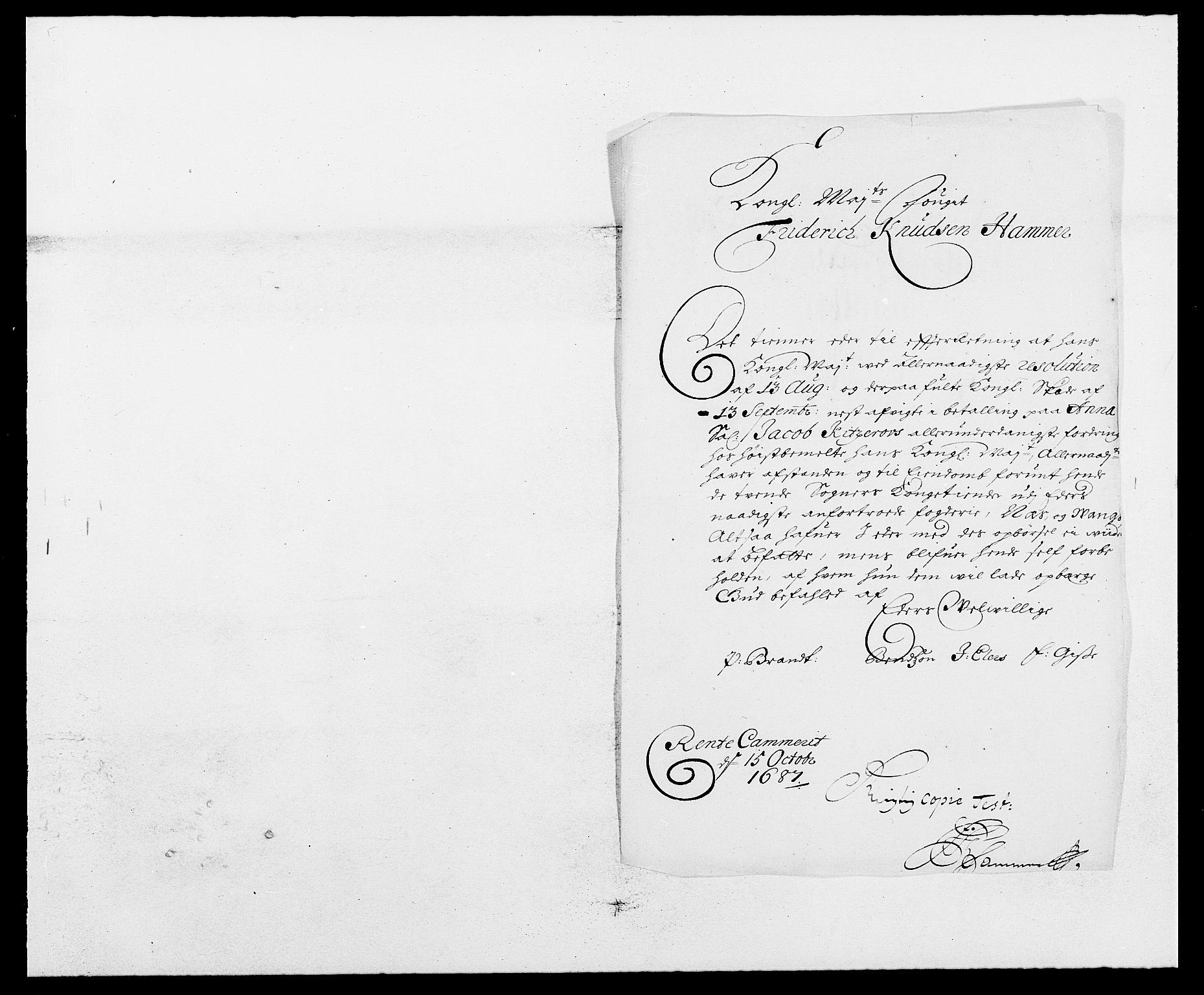 RA, Rentekammeret inntil 1814, Reviderte regnskaper, Fogderegnskap, R16/L1028: Fogderegnskap Hedmark, 1687, s. 66