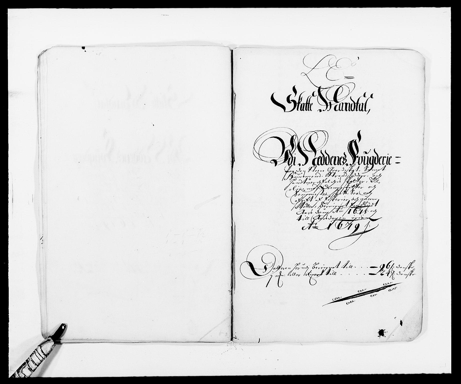 RA, Rentekammeret inntil 1814, Reviderte regnskaper, Fogderegnskap, R39/L2302: Fogderegnskap Nedenes, 1677-1678, s. 265