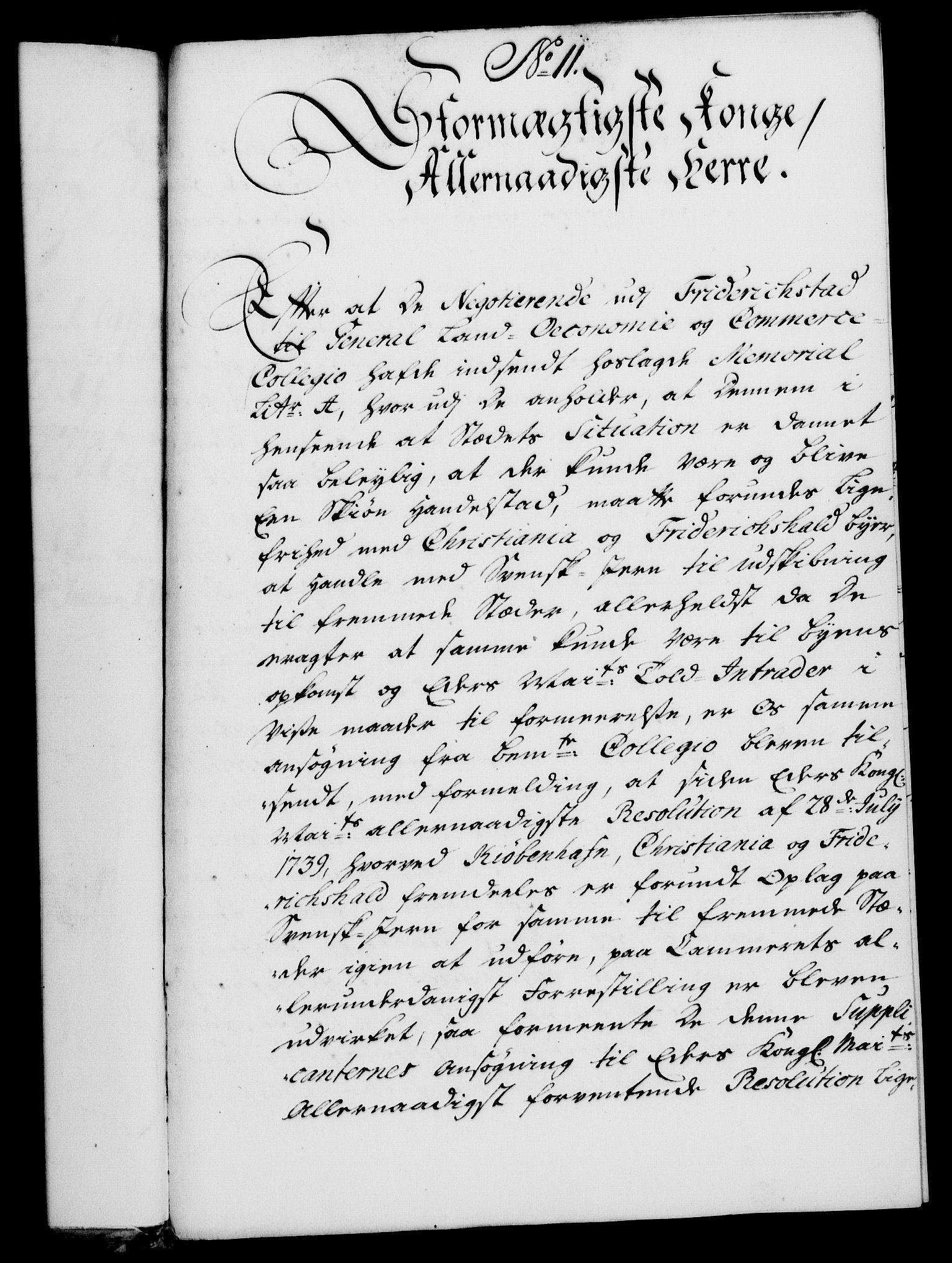 RA, Rentekammeret, Kammerkanselliet, G/Gf/Gfa/L0025: Norsk relasjons- og resolusjonsprotokoll (merket RK 52.25), 1742, s. 91