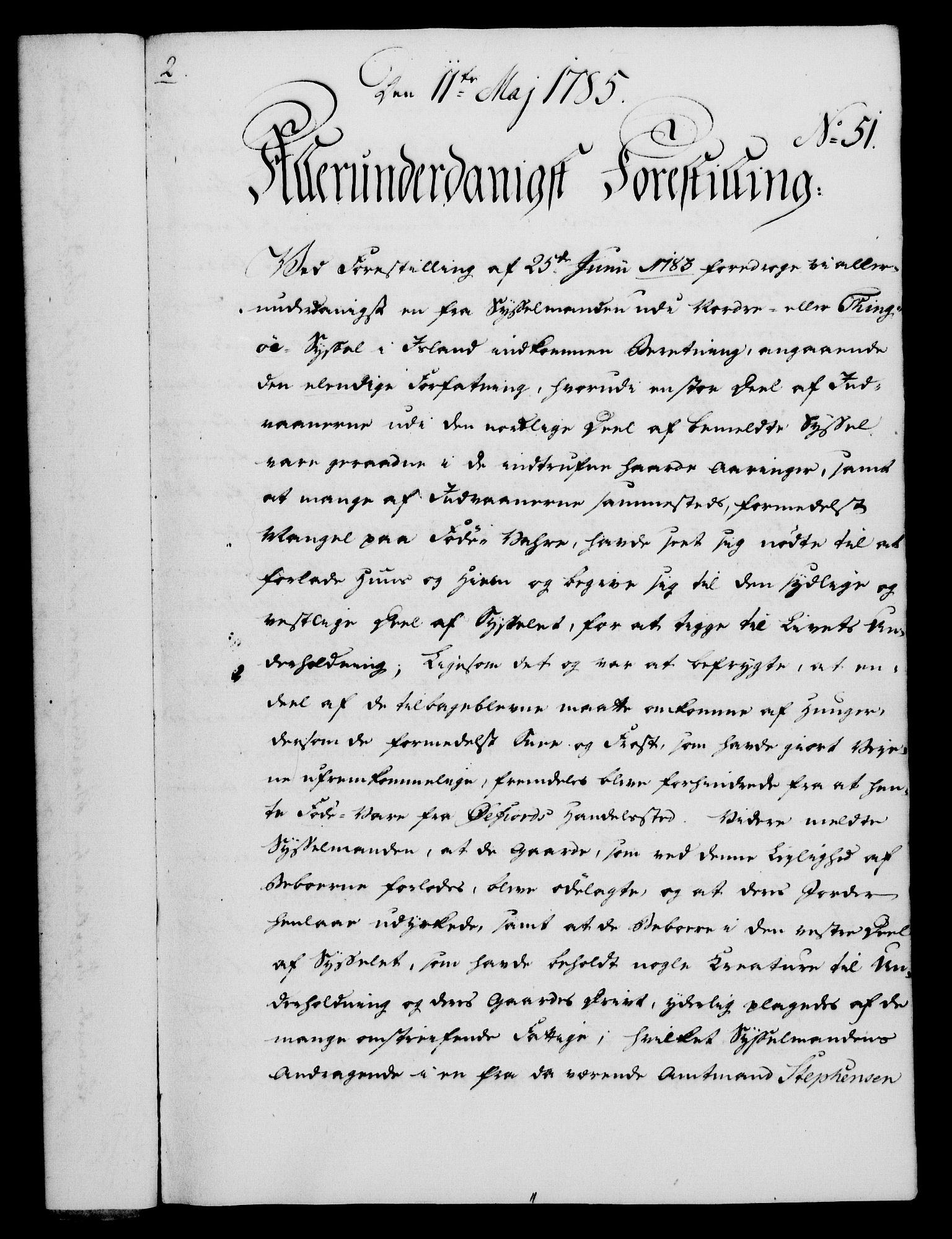 RA, Rentekammeret, Kammerkanselliet, G/Gf/Gfa/L0067: Norsk relasjons- og resolusjonsprotokoll (merket RK 52.67), 1785, s. 429