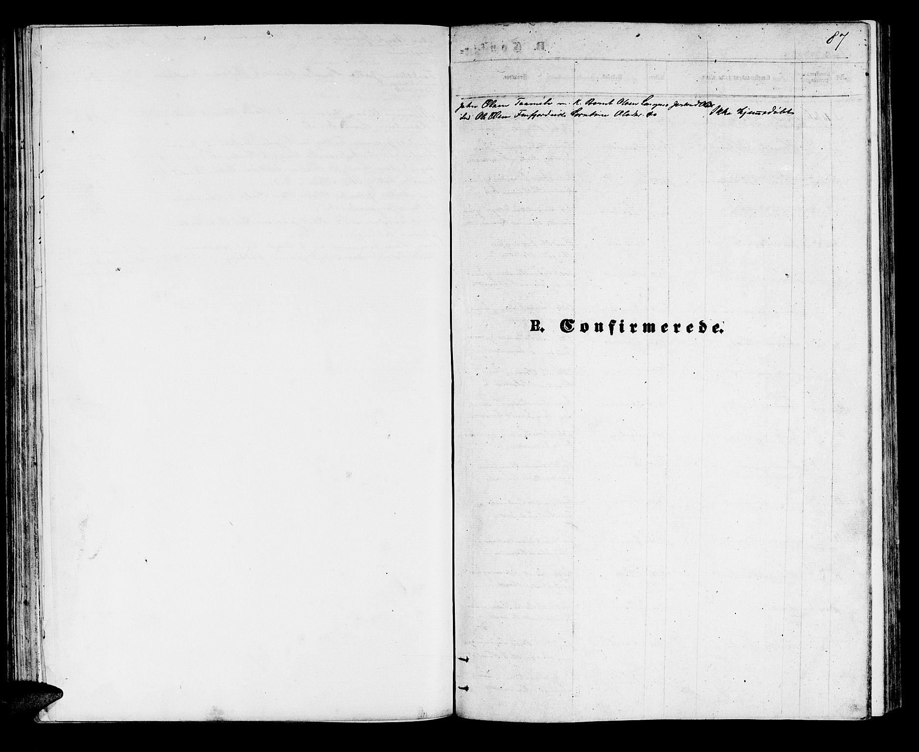SATØ, Lenvik sokneprestembete, H/Ha: Klokkerbok nr. 5, 1870-1880, s. 87