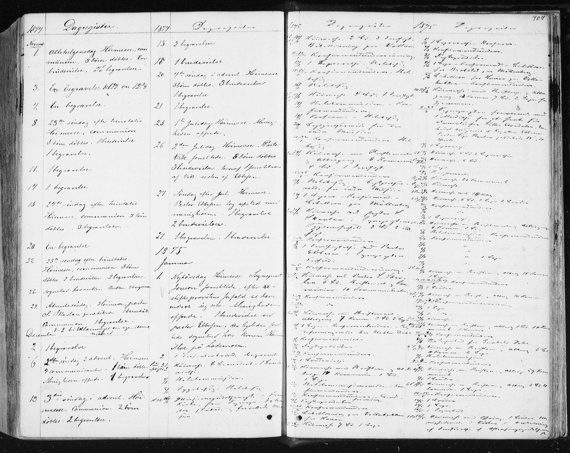 SAT, Ministerialprotokoller, klokkerbøker og fødselsregistre - Sør-Trøndelag, 604/L0186: Ministerialbok nr. 604A07, 1866-1877, s. 707