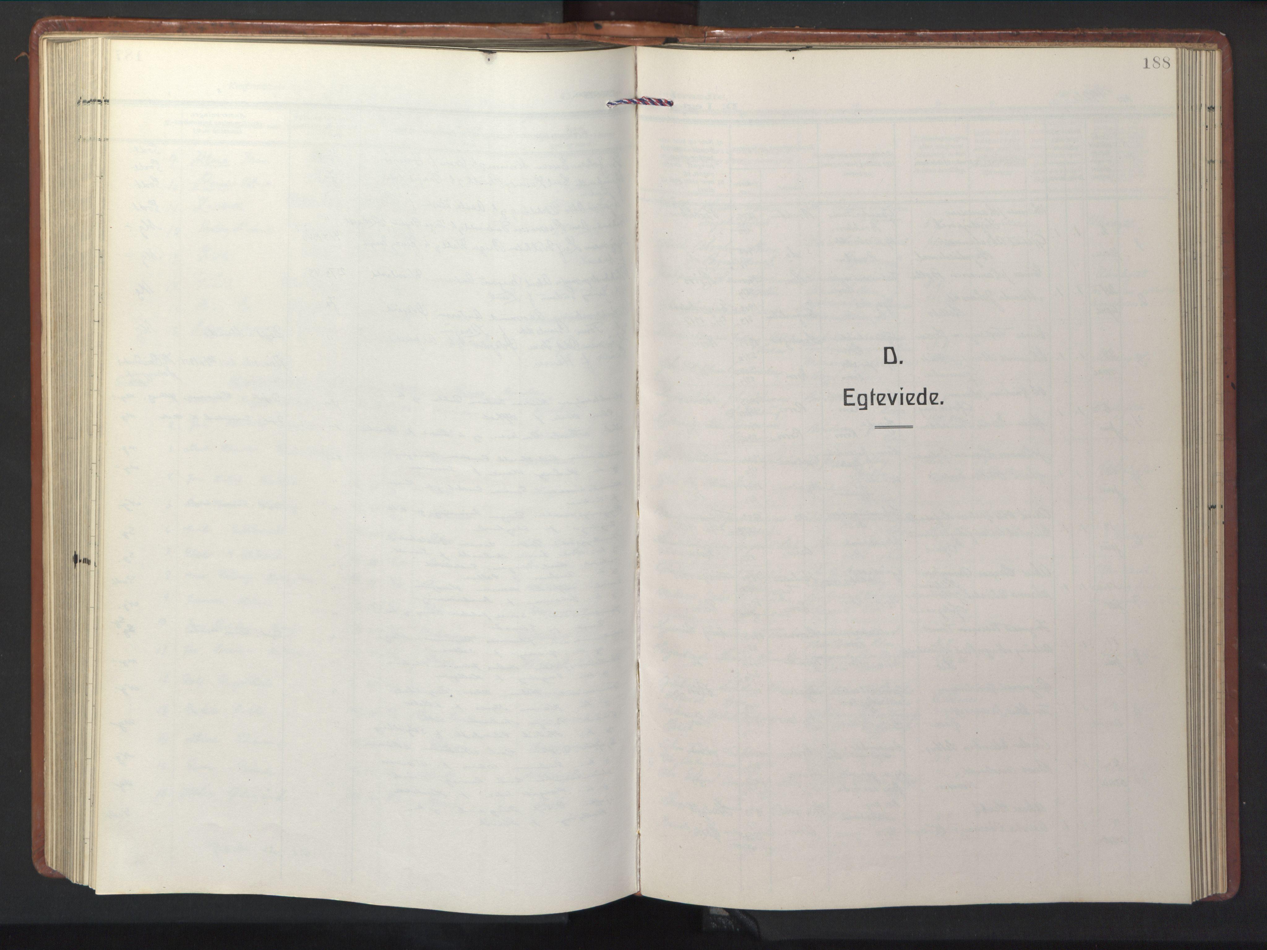 SAT, Ministerialprotokoller, klokkerbøker og fødselsregistre - Sør-Trøndelag, 681/L0943: Klokkerbok nr. 681C07, 1926-1954, s. 188