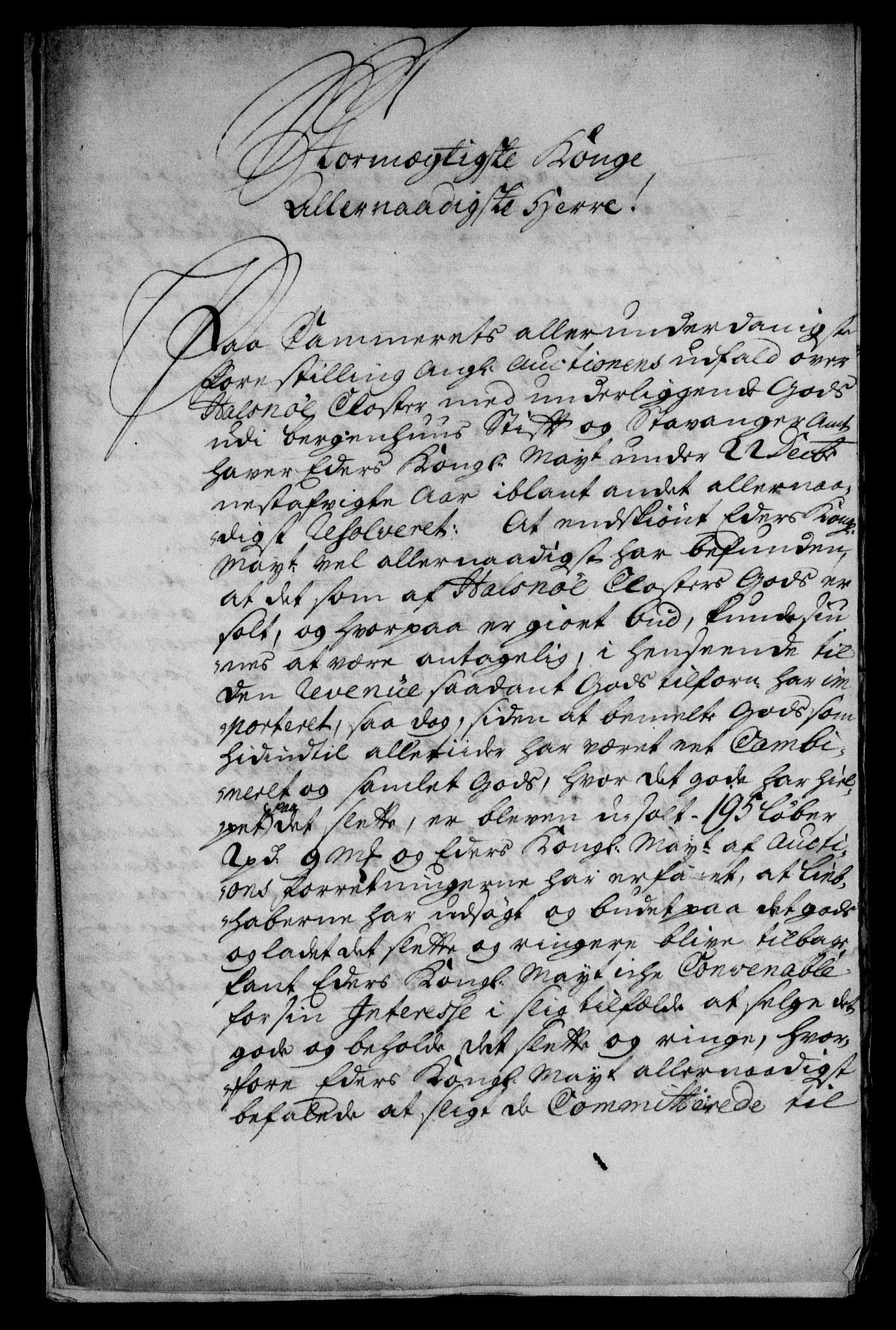 RA, Rentekammeret inntil 1814, Realistisk ordnet avdeling, On/L0003: [Jj 4]: Kommisjonsforretning over Vilhelm Hanssøns forpaktning av Halsnøy klosters gods, 1721-1729, s. 586