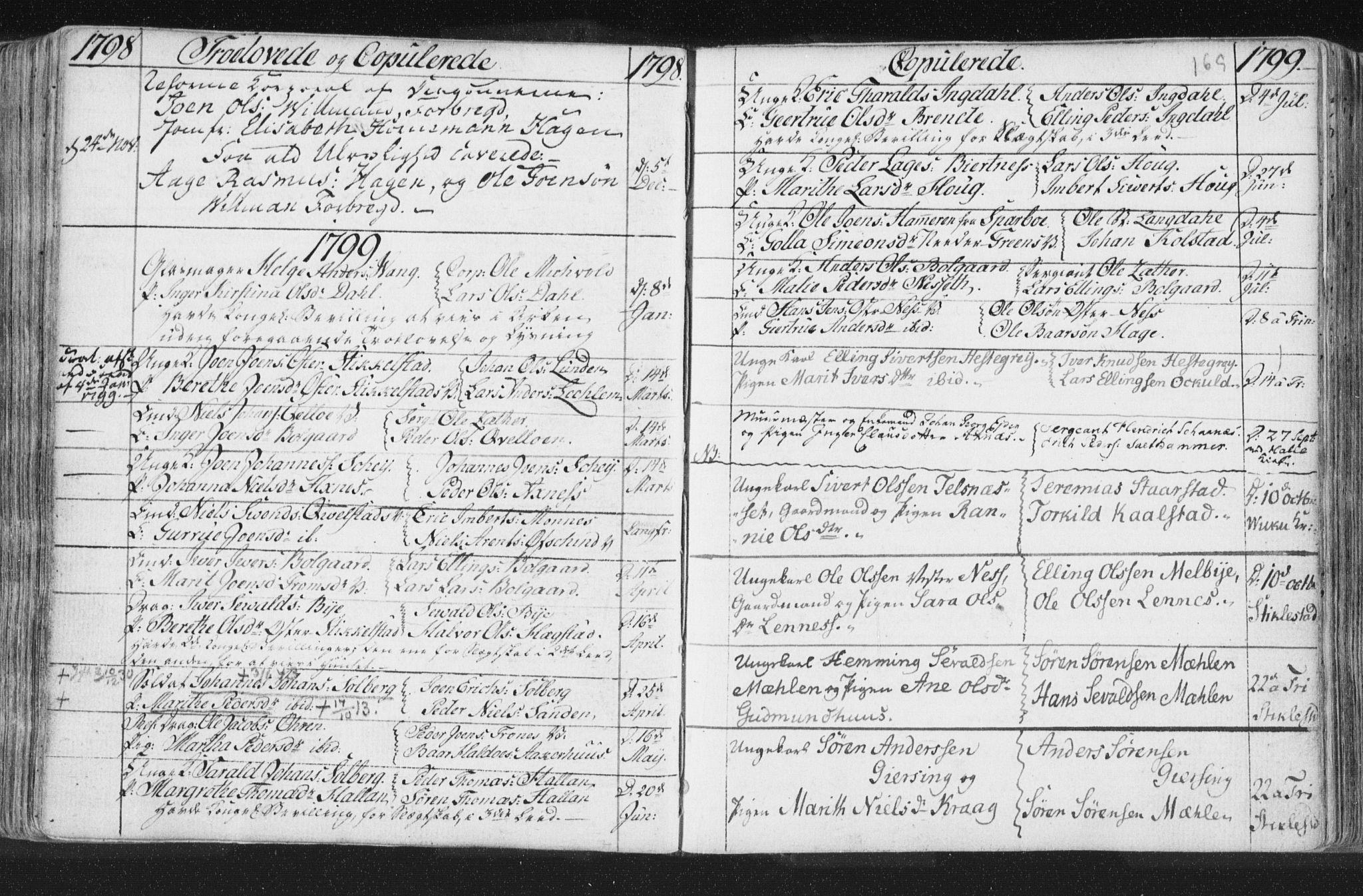 SAT, Ministerialprotokoller, klokkerbøker og fødselsregistre - Nord-Trøndelag, 723/L0232: Ministerialbok nr. 723A03, 1781-1804, s. 169