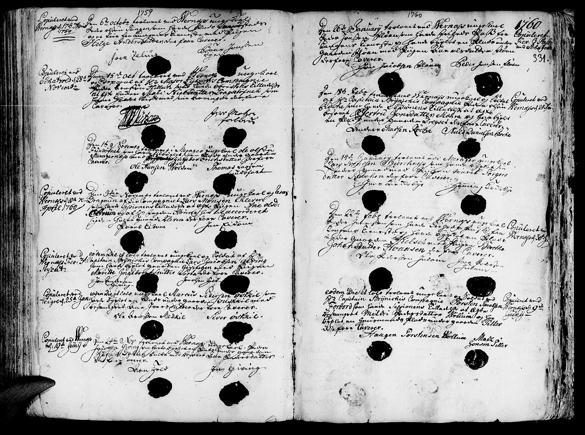 SAT, Ministerialprotokoller, klokkerbøker og fødselsregistre - Nord-Trøndelag, 709/L0057: Ministerialbok nr. 709A05, 1755-1780, s. 331