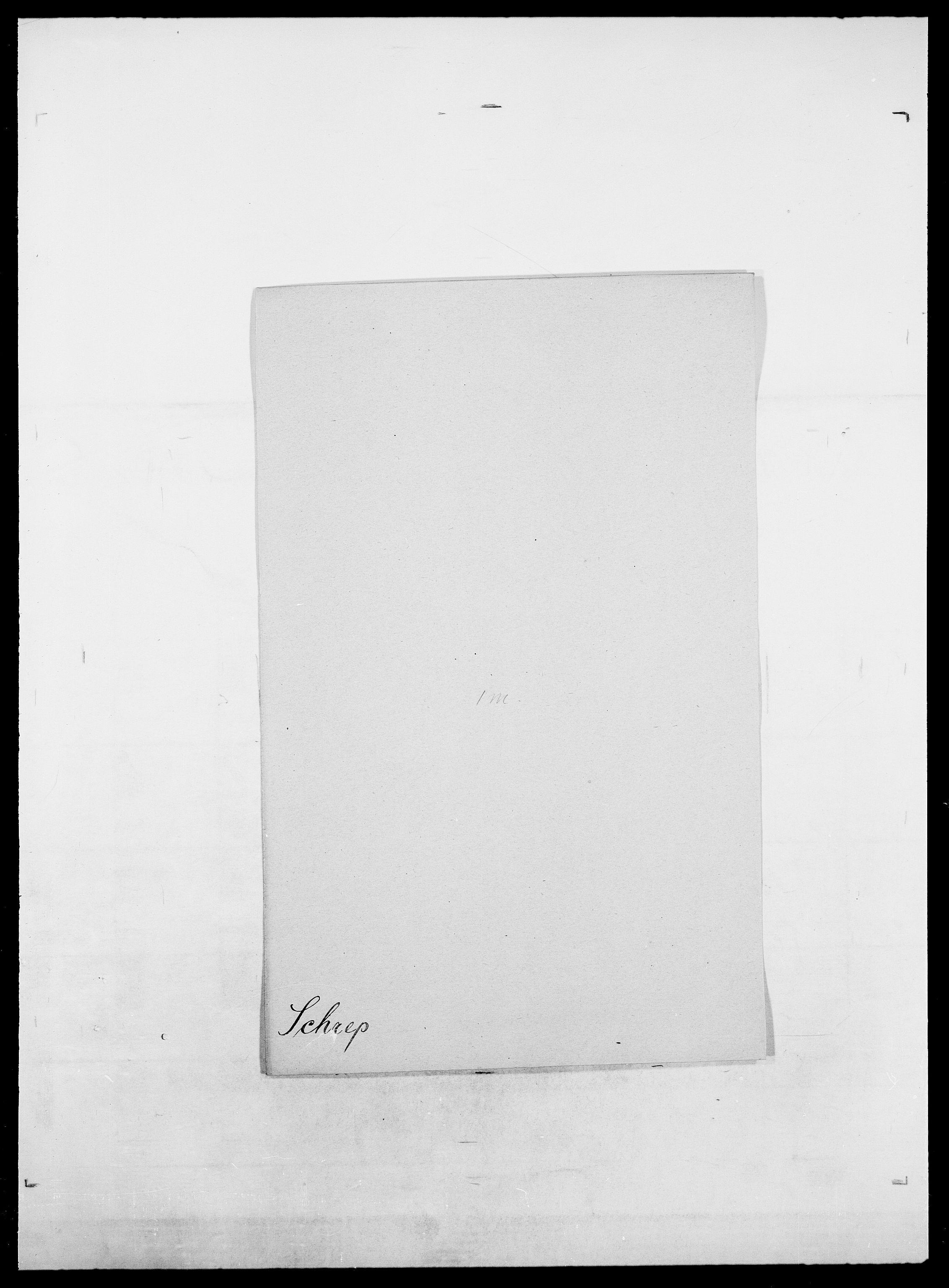 SAO, Delgobe, Charles Antoine - samling, D/Da/L0035: Schnabel - sjetman, s. 157