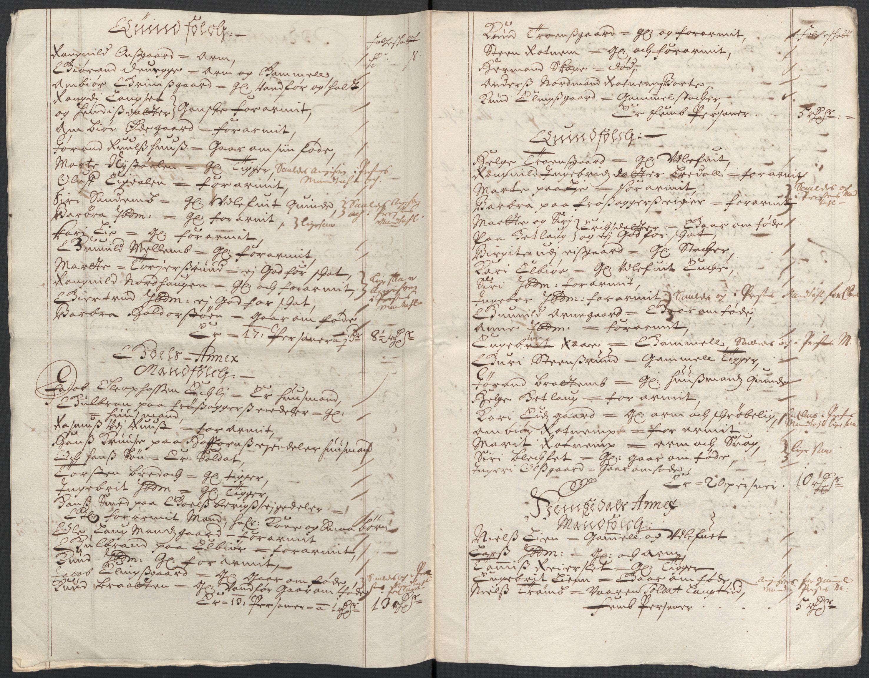 RA, Rentekammeret inntil 1814, Reviderte regnskaper, Fogderegnskap, R21/L1445: Fogderegnskap Ringerike og Hallingdal, 1681-1689, s. 217