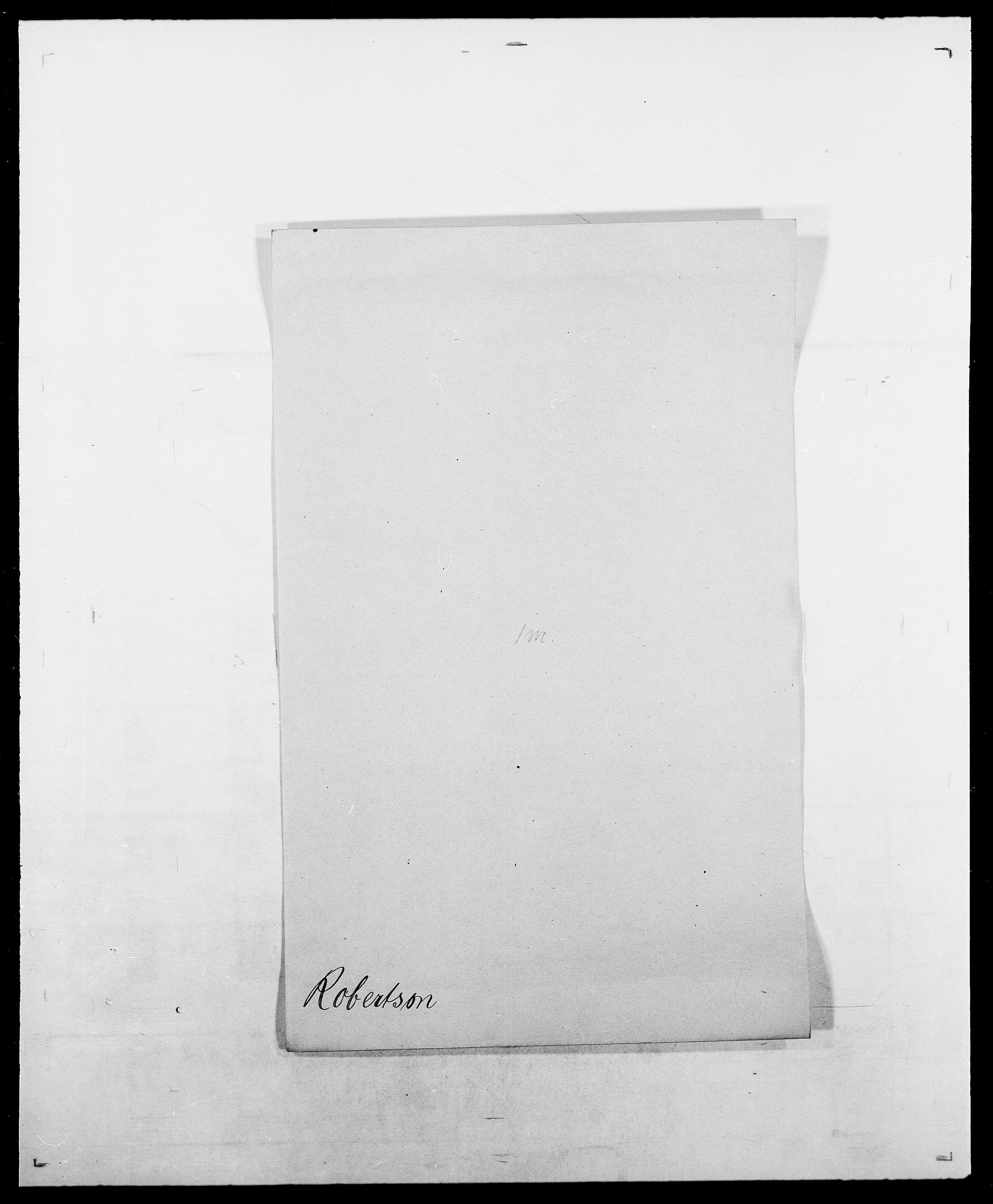 SAO, Delgobe, Charles Antoine - samling, D/Da/L0033: Roald - Røyem, s. 6