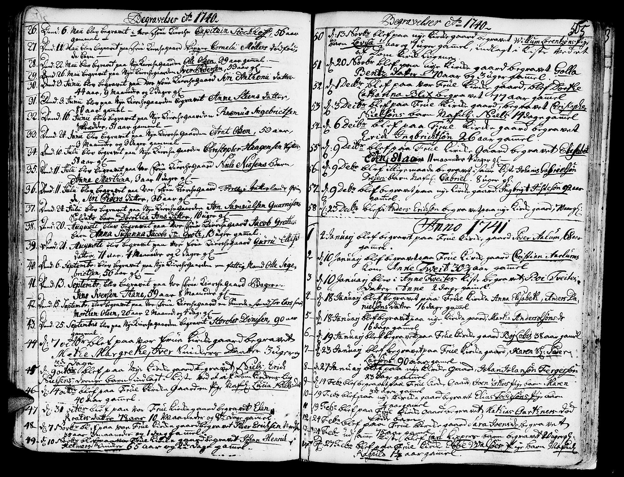 SAT, Ministerialprotokoller, klokkerbøker og fødselsregistre - Sør-Trøndelag, 602/L0103: Ministerialbok nr. 602A01, 1732-1774, s. 565