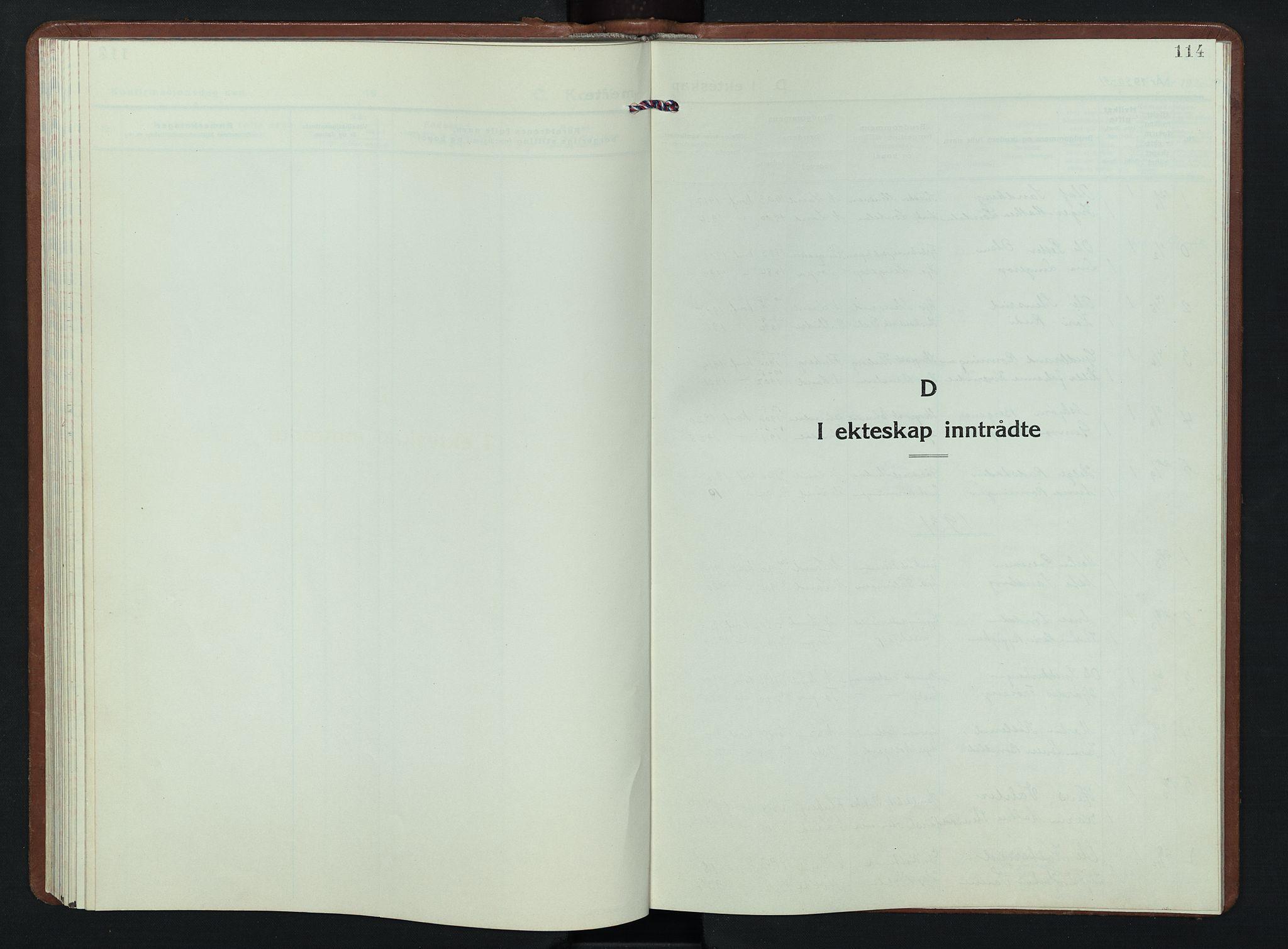 SAH, Nordre Land prestekontor, Klokkerbok nr. 7, 1930-1953, s. 114