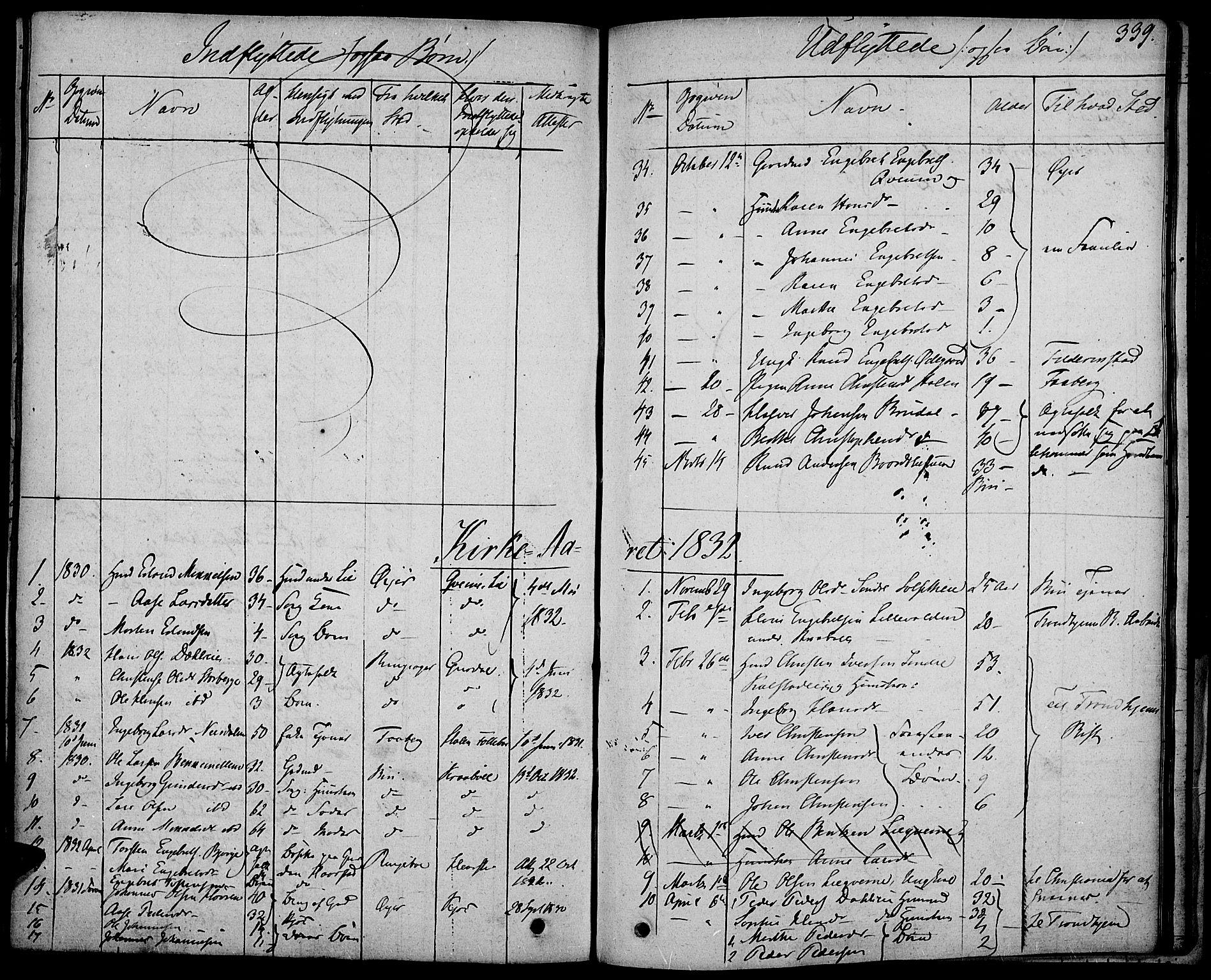 SAH, Gausdal prestekontor, Ministerialbok nr. 6, 1830-1839, s. 339