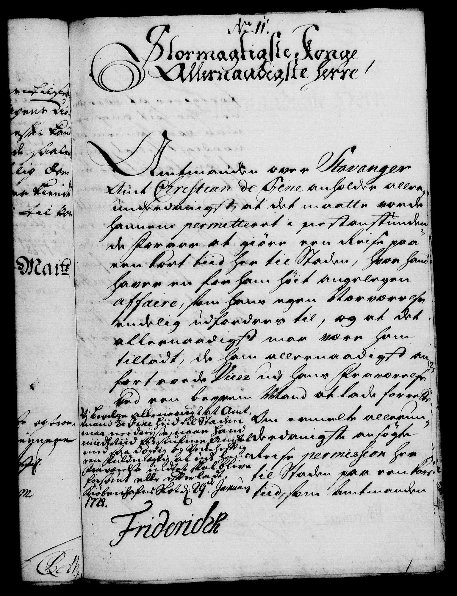 RA, Rentekammeret, Kammerkanselliet, G/Gf/Gfa/L0011: Norsk relasjons- og resolusjonsprotokoll (merket RK 52.11), 1728, s. 79