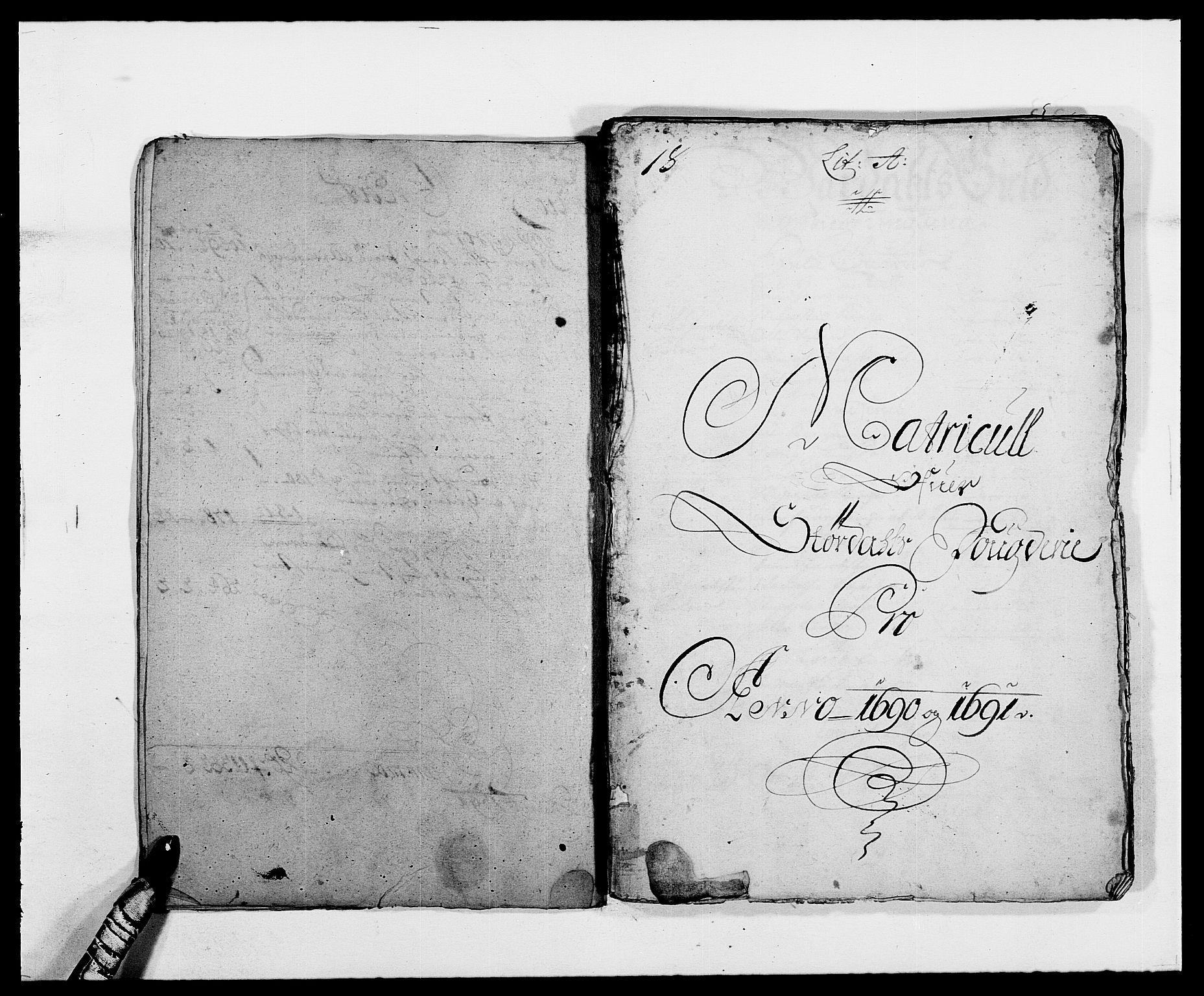 RA, Rentekammeret inntil 1814, Reviderte regnskaper, Fogderegnskap, R62/L4184: Fogderegnskap Stjørdal og Verdal, 1690-1691, s. 243