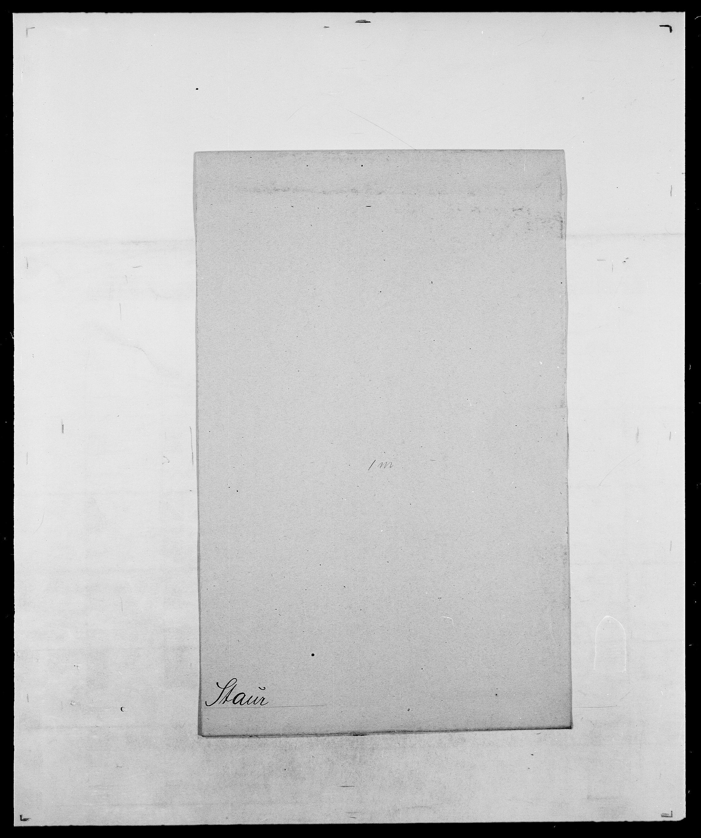 SAO, Delgobe, Charles Antoine - samling, D/Da/L0036: Skaanør - Staverskov, s. 999
