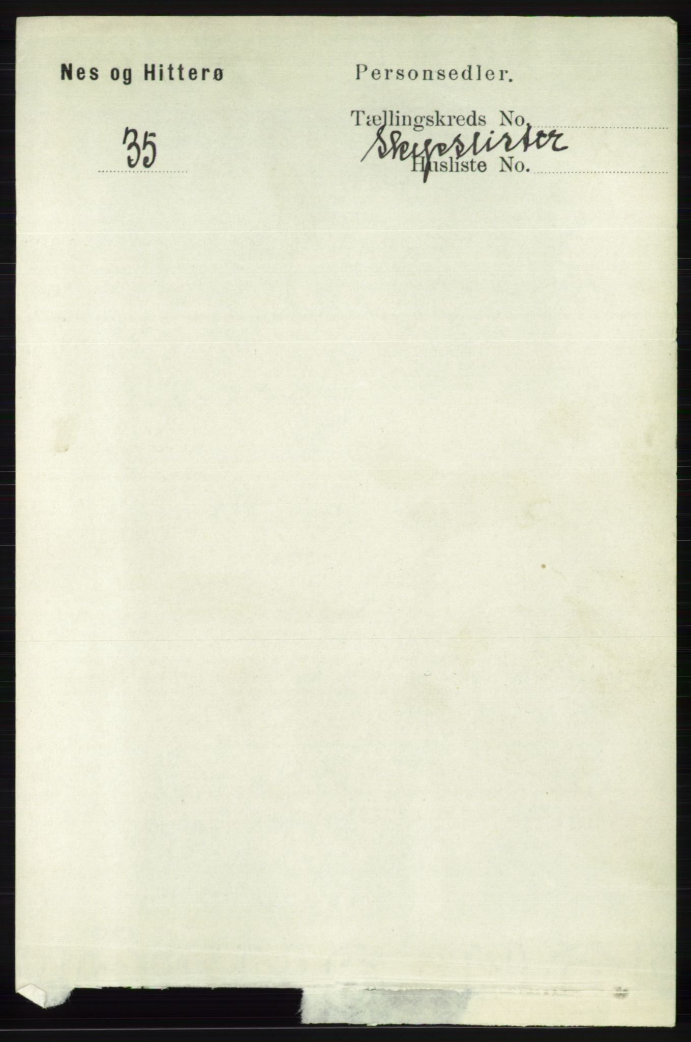 RA, Folketelling 1891 for 1043 Hidra og Nes herred, 1891, s. 4729