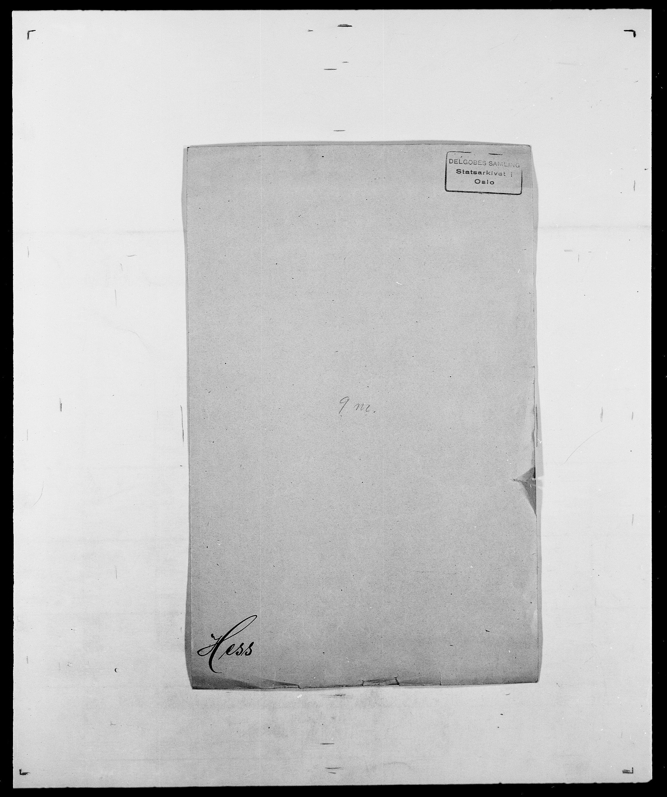SAO, Delgobe, Charles Antoine - samling, D/Da/L0017: Helander - Hjørne, s. 303