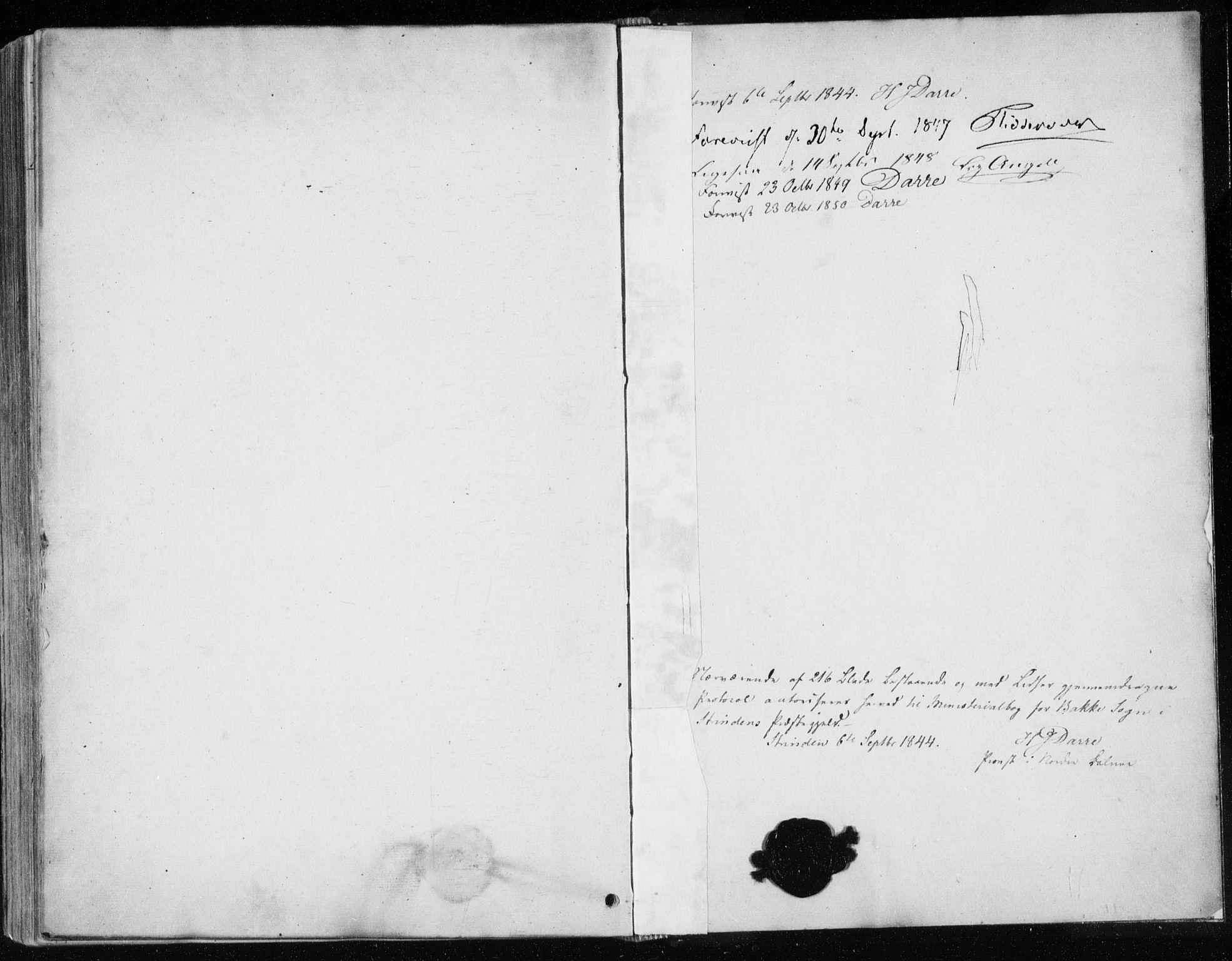 SAT, Ministerialprotokoller, klokkerbøker og fødselsregistre - Sør-Trøndelag, 604/L0183: Ministerialbok nr. 604A04, 1841-1850
