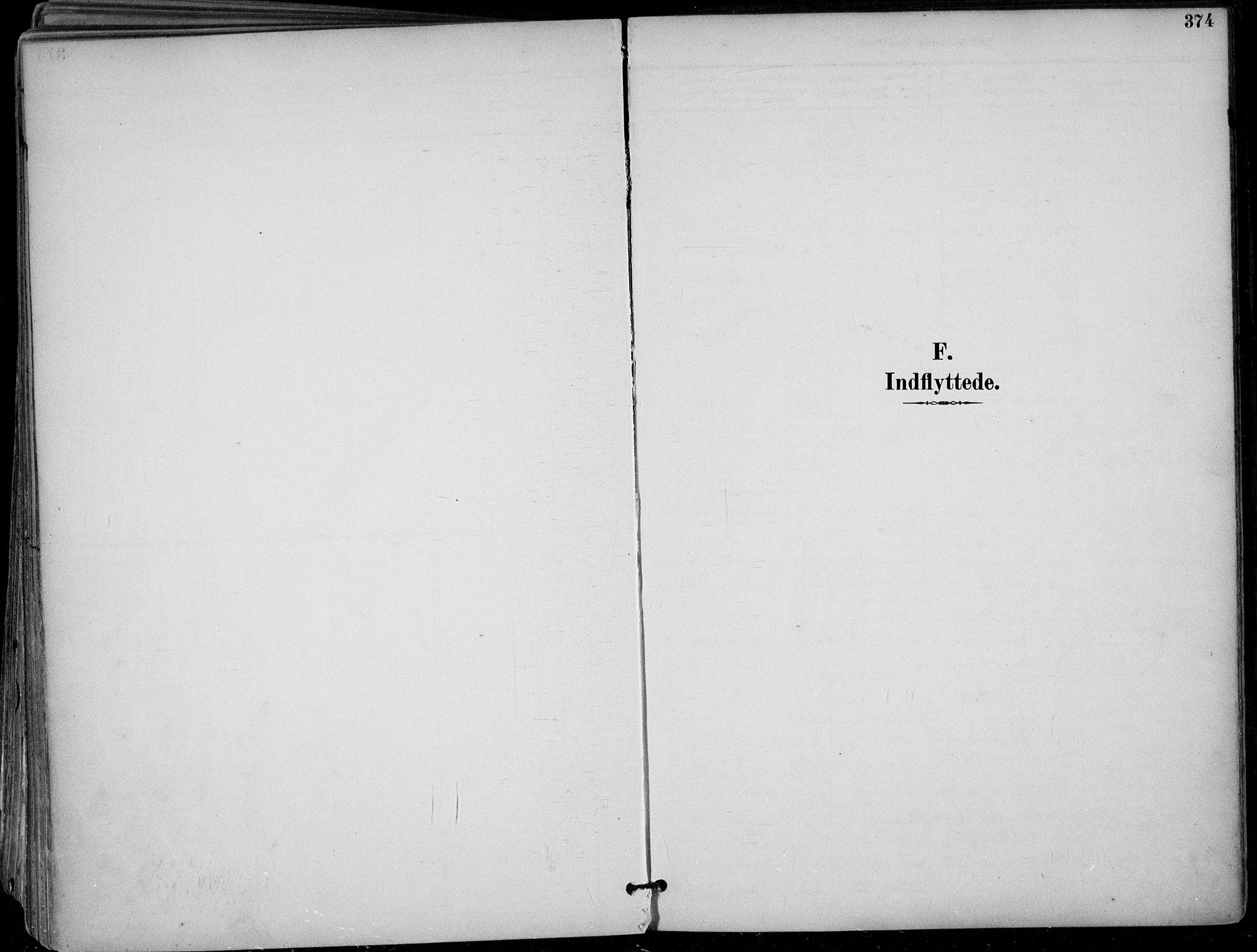 SAKO, Skien kirkebøker, F/Fa/L0010: Ministerialbok nr. 10, 1891-1899, s. 374