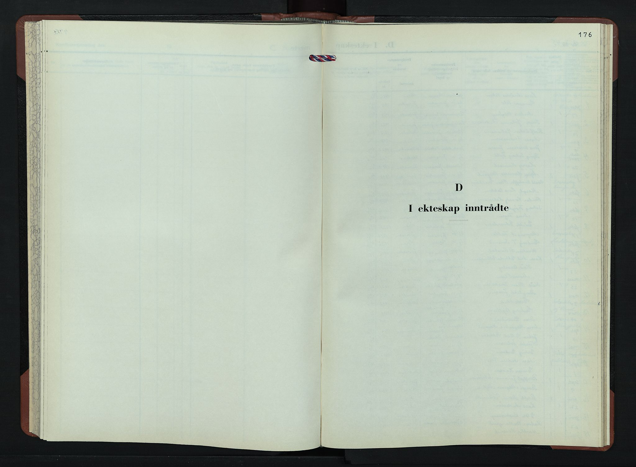 SAH, Jevnaker prestekontor, Klokkerbok nr. 7, 1943-1953, s. 176
